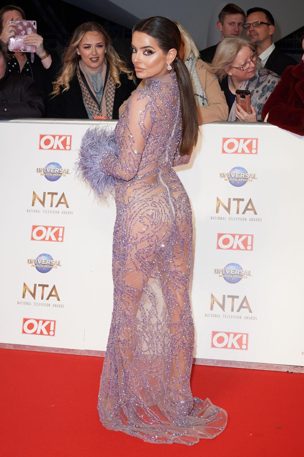 Maura Higgins Looks Hot At The National Television Awards 0006
