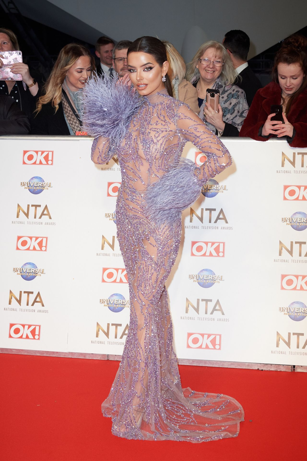Maura Higgins Looks Hot At The National Television Awards 0007