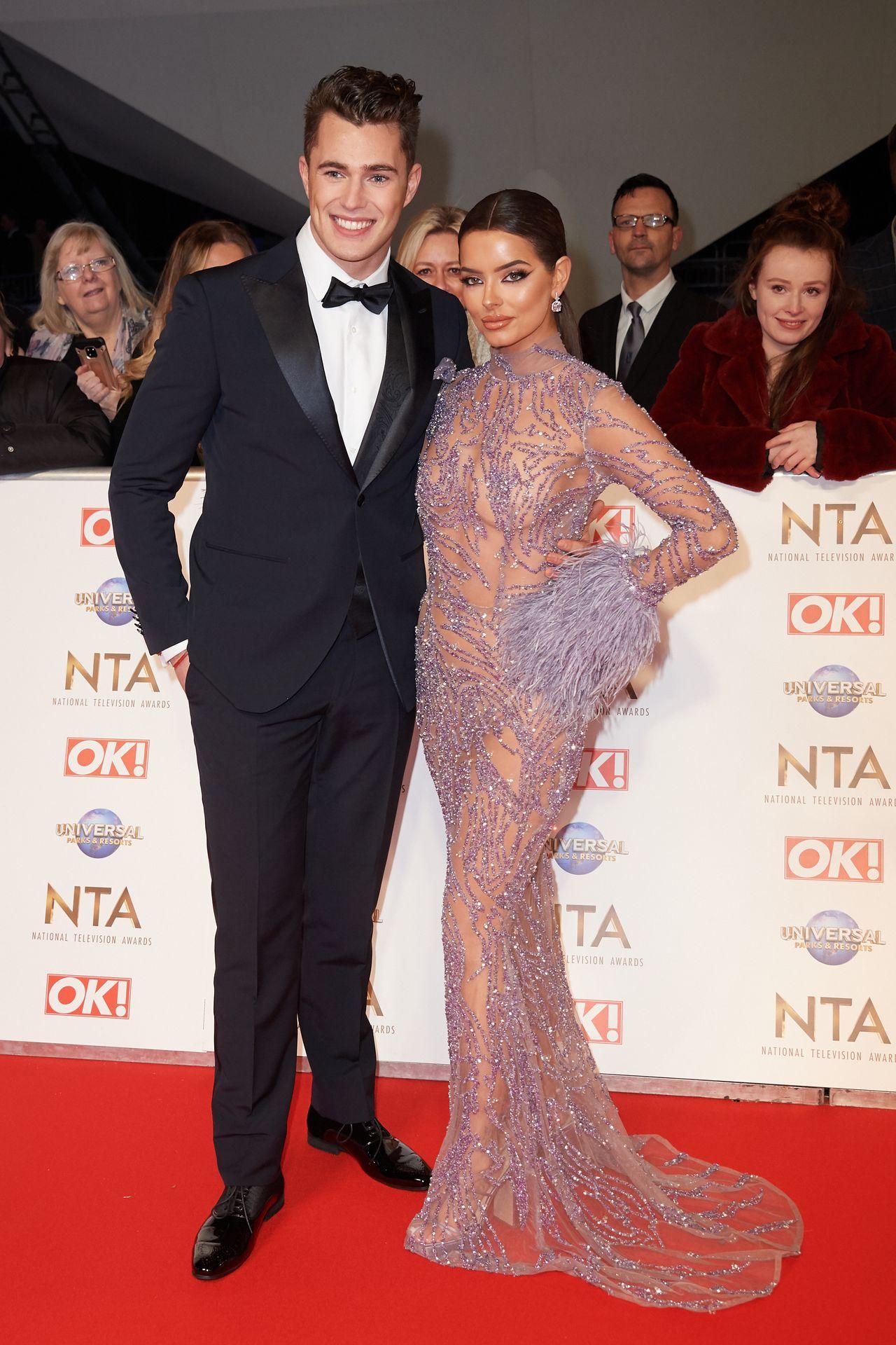 Maura Higgins Looks Hot At The National Television Awards 0009