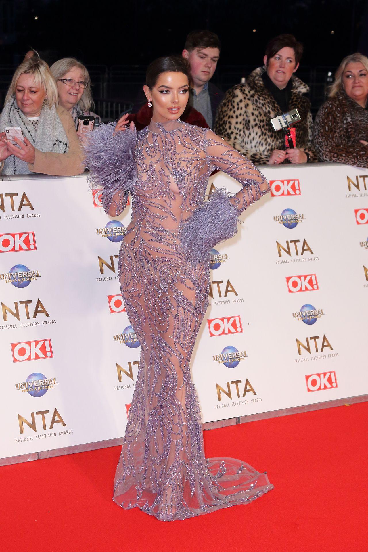 Maura Higgins Looks Hot At The National Television Awards 0011