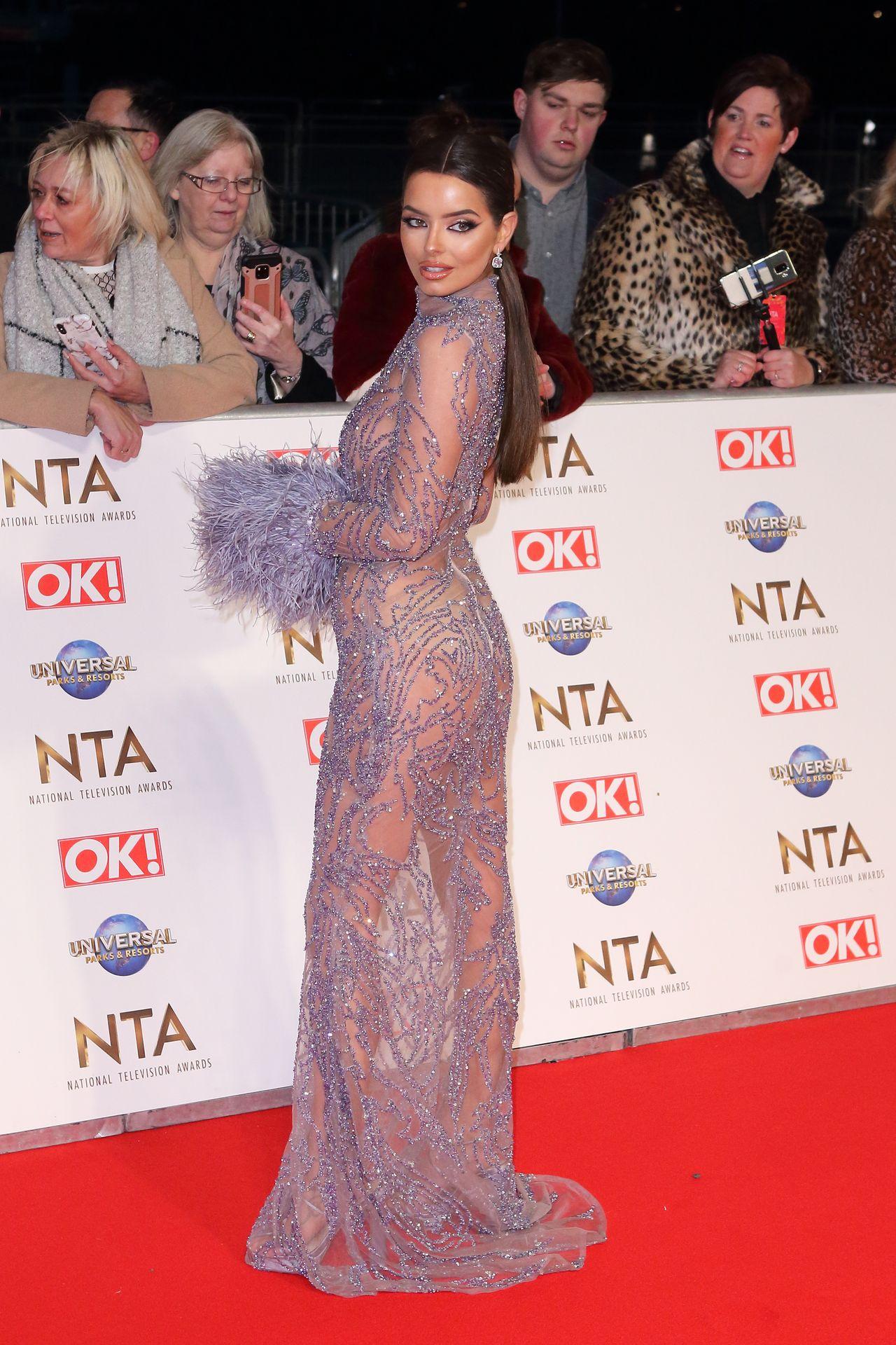 Maura Higgins Looks Hot At The National Television Awards 0012