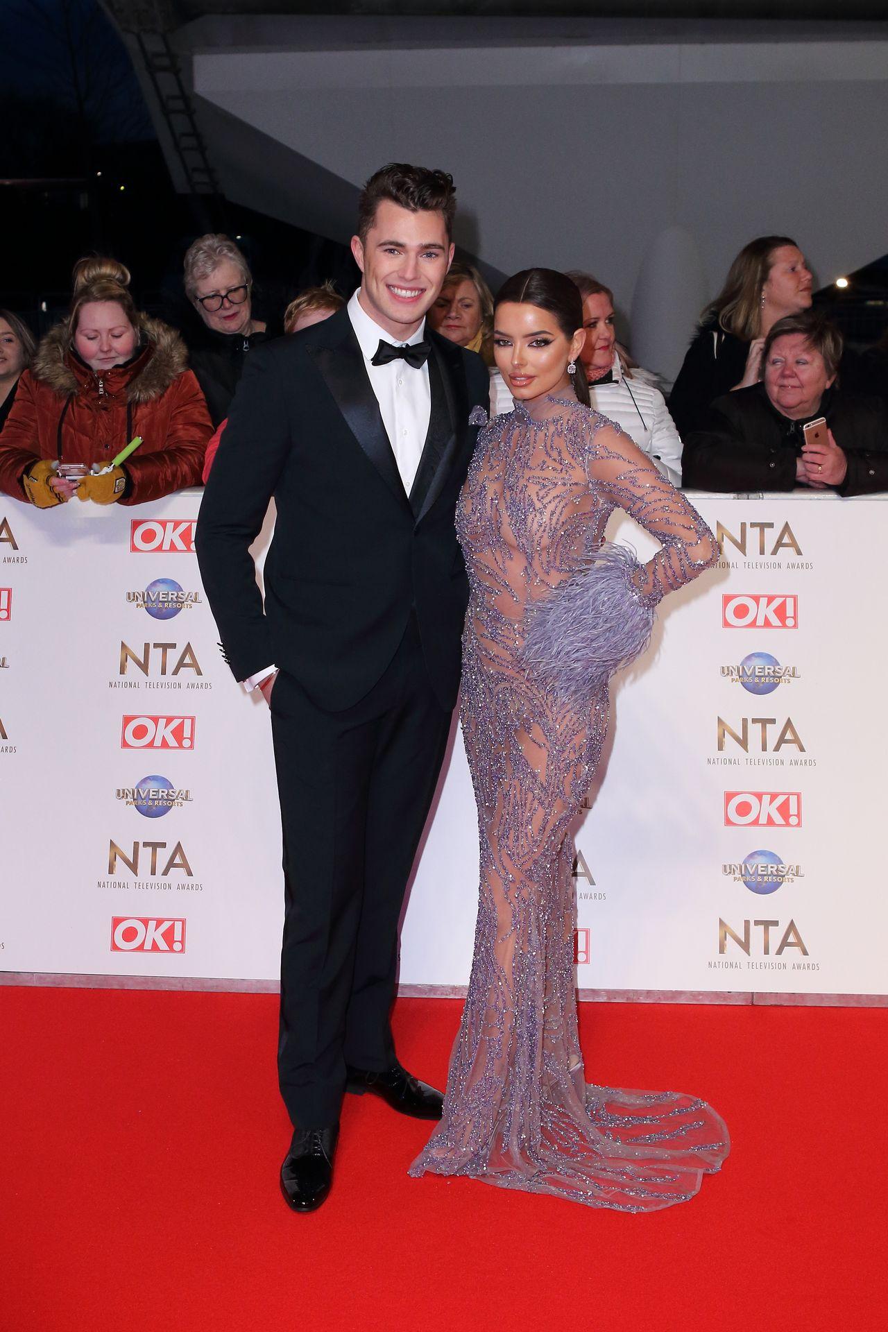 Maura Higgins Looks Hot At The National Television Awards 0013