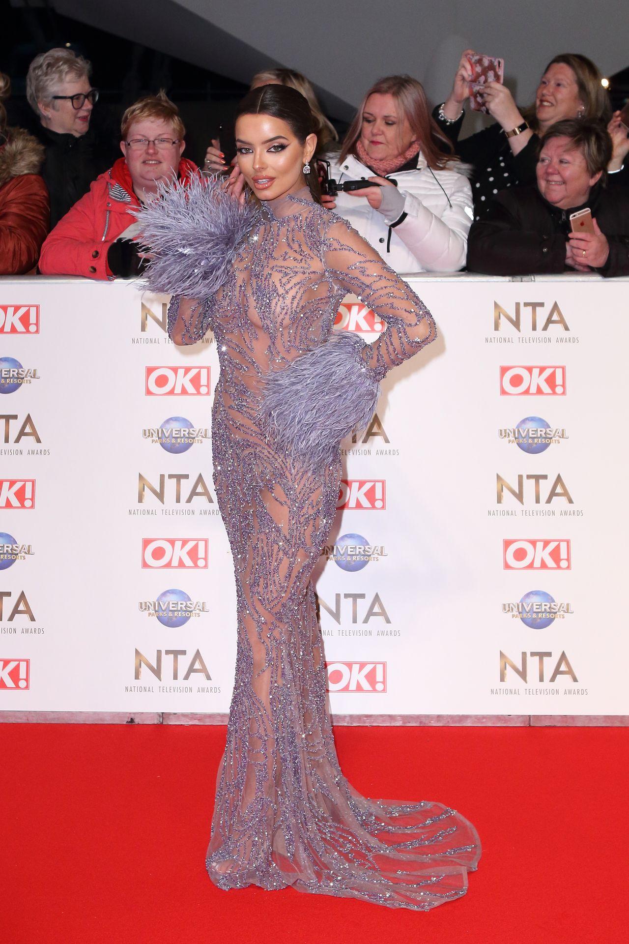 Maura Higgins Looks Hot At The National Television Awards 0014