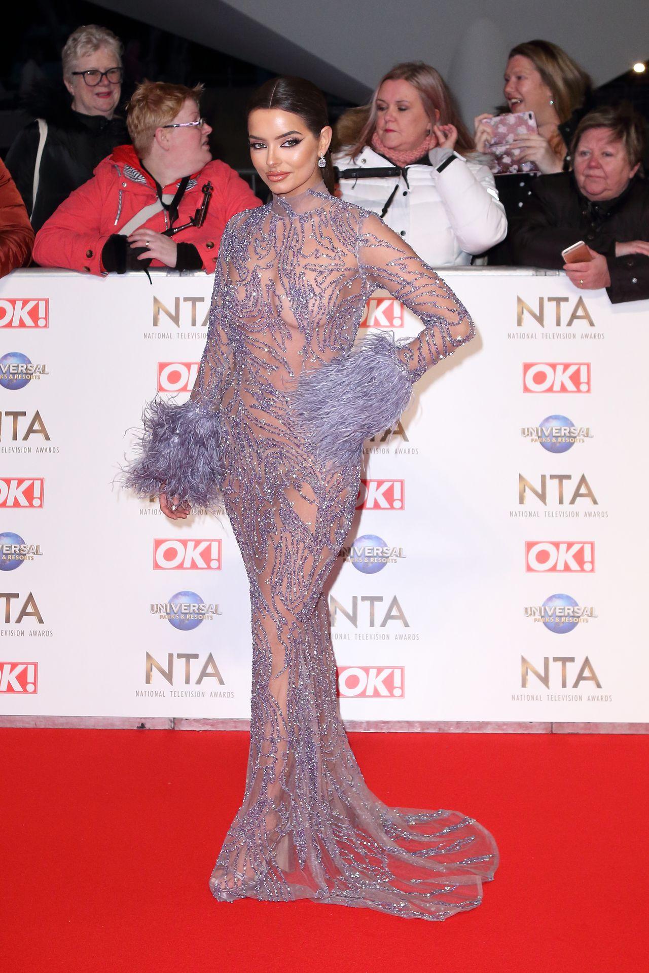 Maura Higgins Looks Hot At The National Television Awards 0015