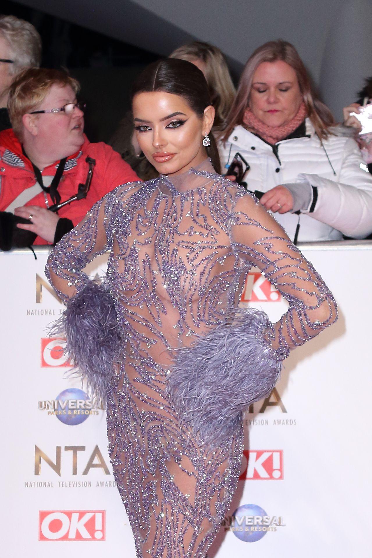 Maura Higgins Looks Hot At The National Television Awards 0016