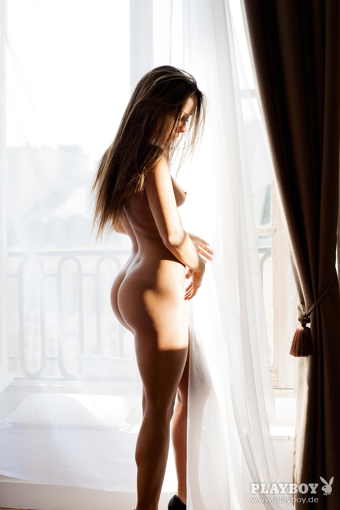 Nathalie Cassegrain Nude – Playboy 0004