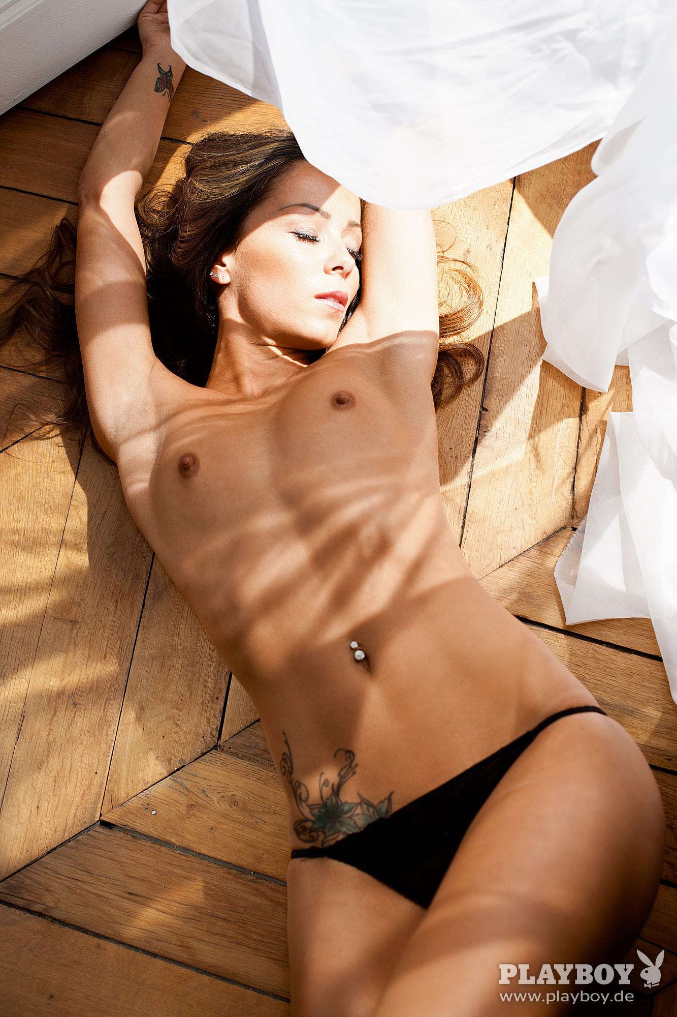 Nathalie Cassegrain Nude – Playboy 0005