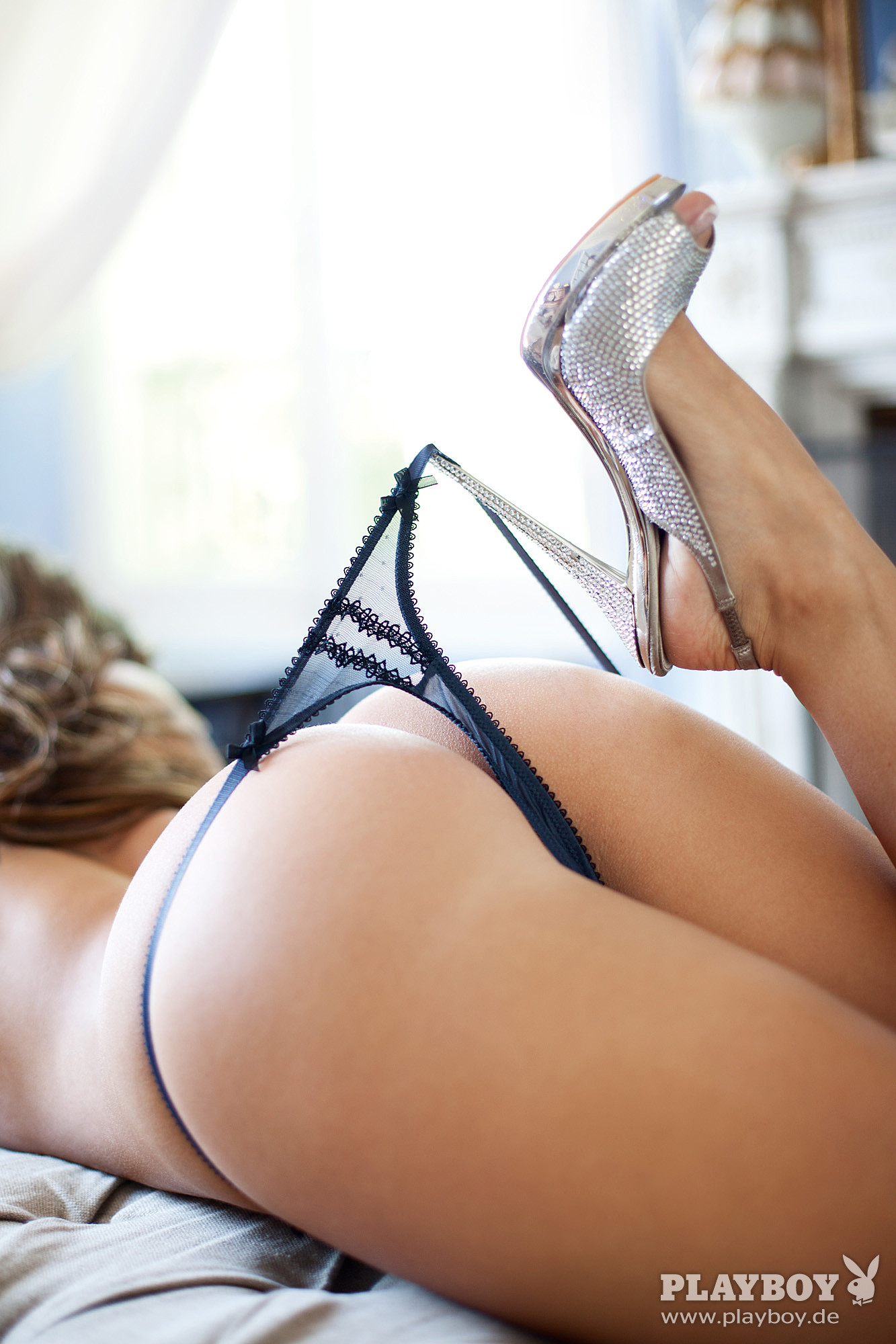 Nathalie Cassegrain Nude – Playboy 0011