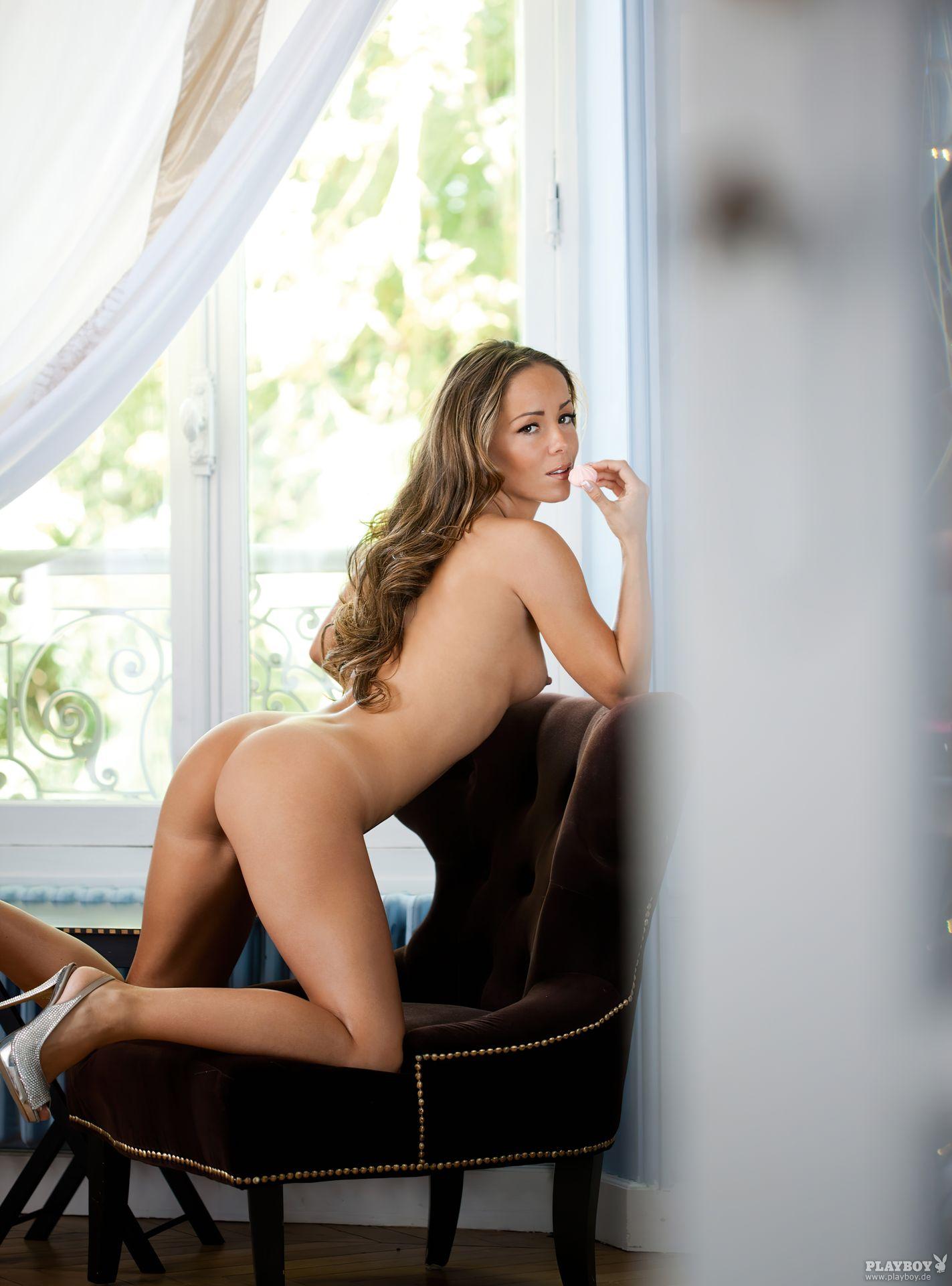 Nathalie Cassegrain Nude – Playboy 0024