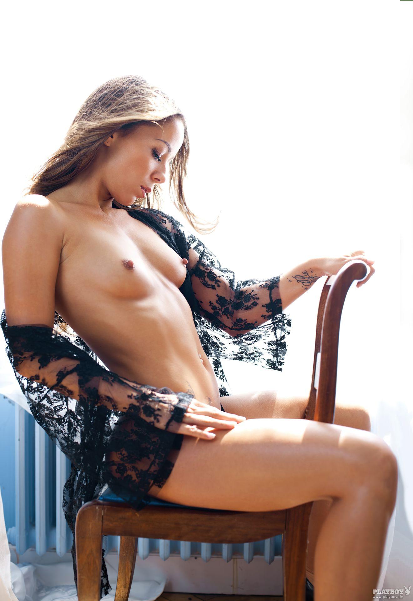 Nathalie Cassegrain Nude – Playboy 0025