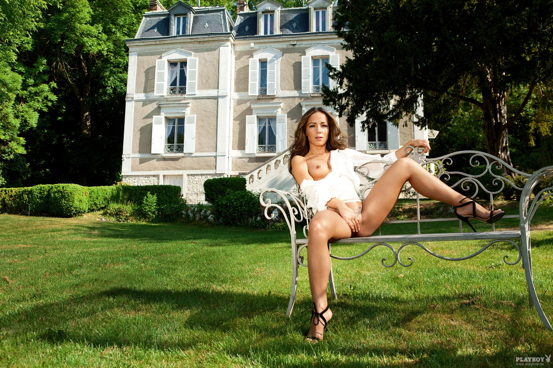 Nathalie Cassegrain Nude – Playboy 0028