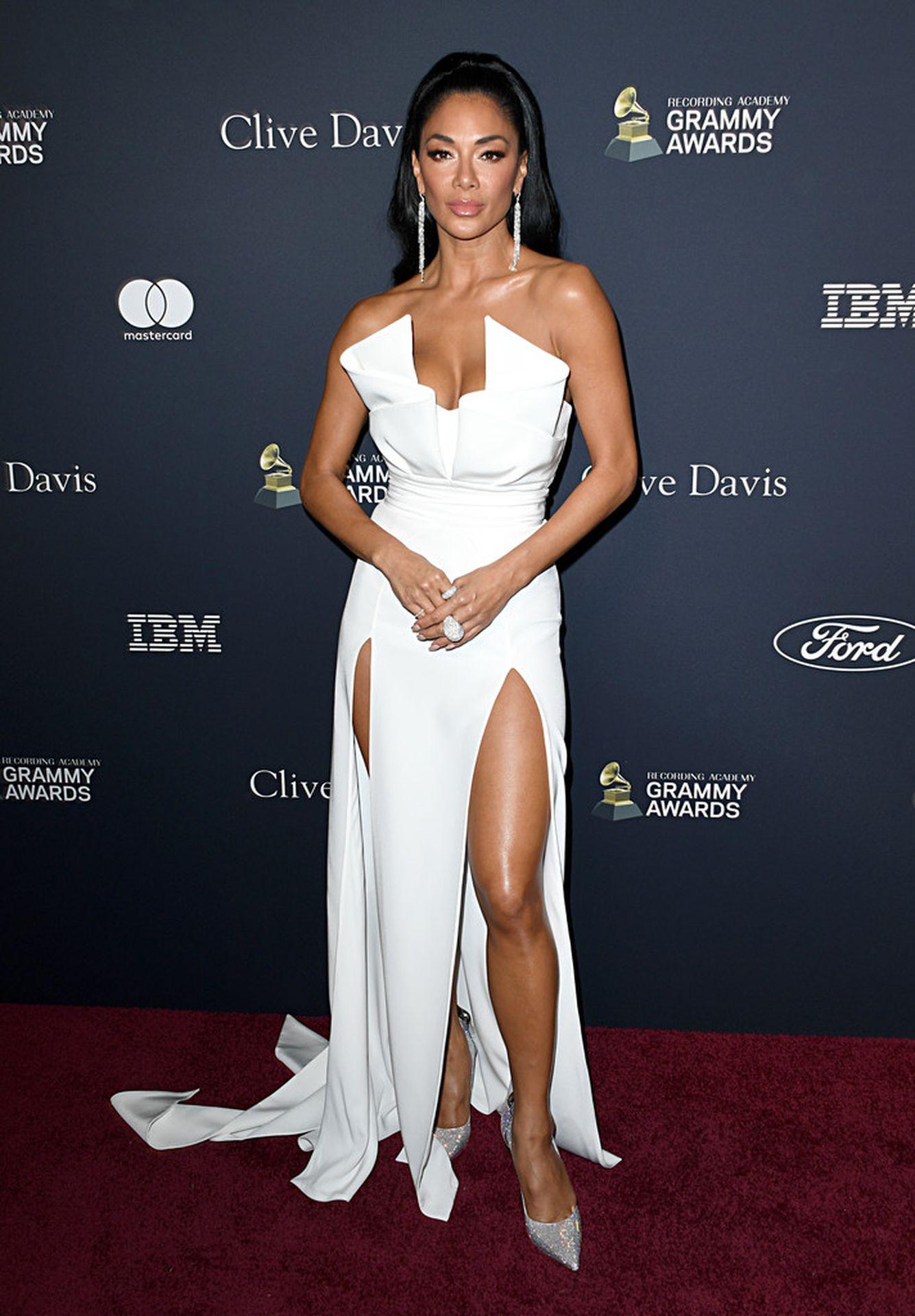 Nicole Scherzinger Stuns At The Clive Davis' 2020 Pre Grammy Gala 0005