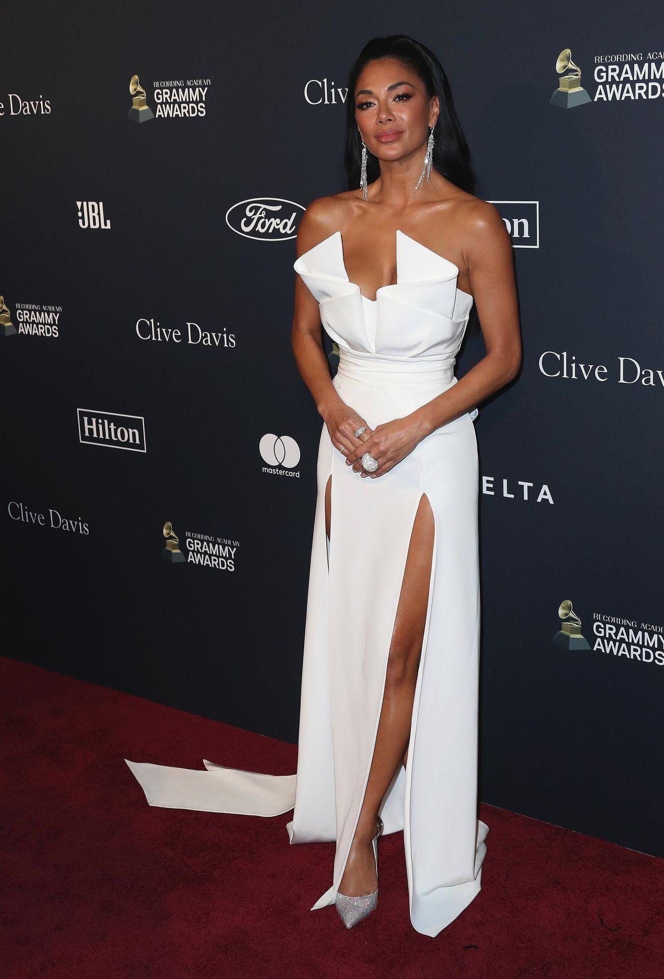 Nicole Scherzinger Stuns At The Clive Davis' 2020 Pre Grammy Gala 0009