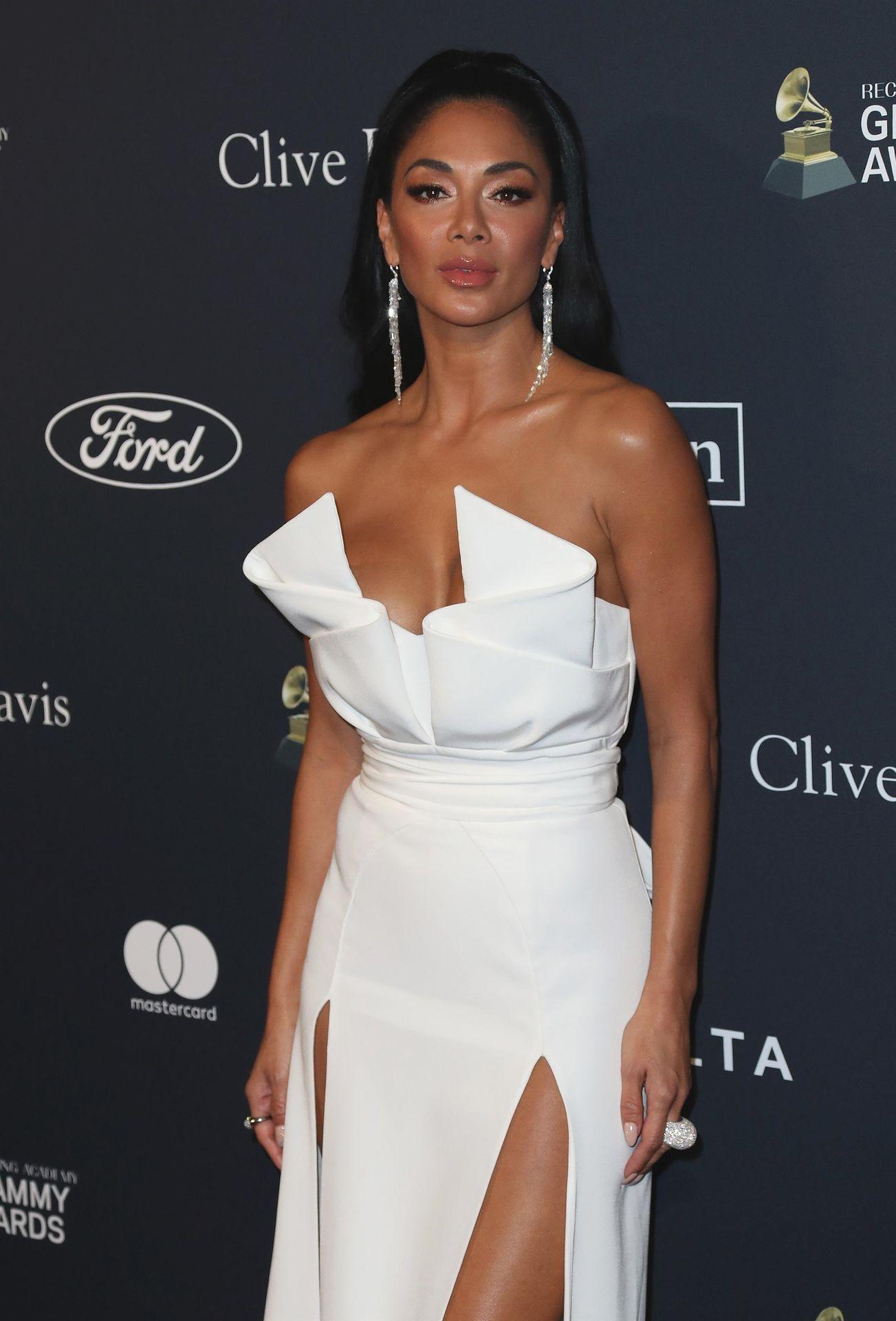 Nicole Scherzinger Stuns At The Clive Davis' 2020 Pre Grammy Gala 0012