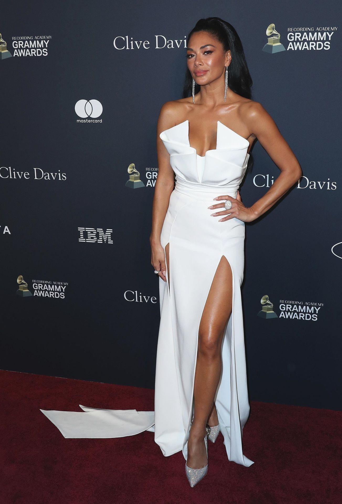 Nicole Scherzinger Stuns At The Clive Davis' 2020 Pre Grammy Gala 0018