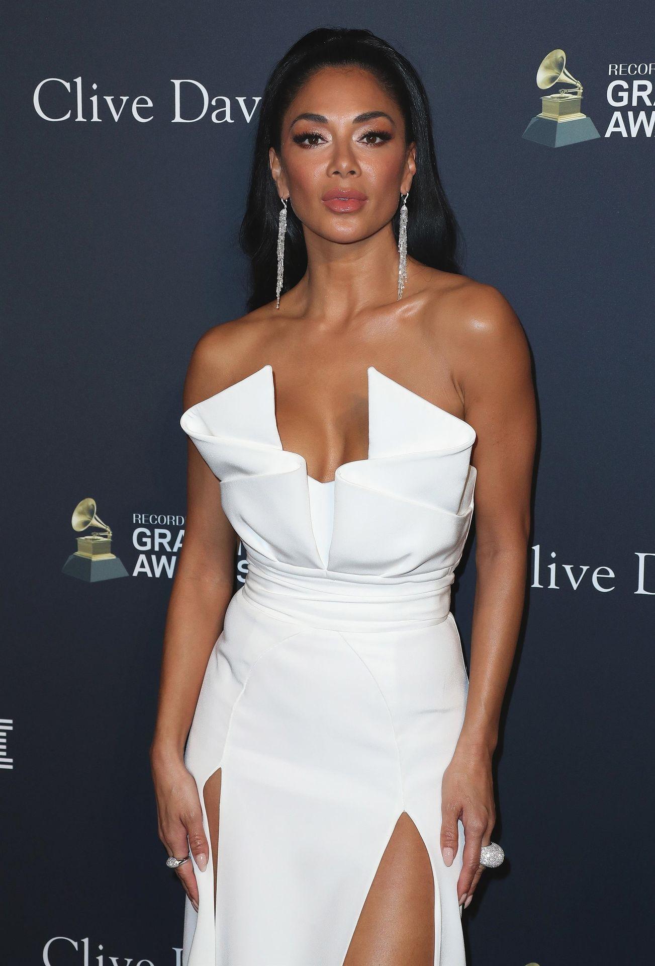 Nicole Scherzinger Stuns At The Clive Davis' 2020 Pre Grammy Gala 0023