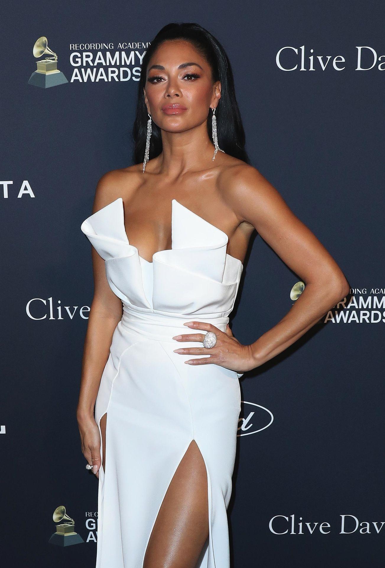 Nicole Scherzinger Stuns At The Clive Davis' 2020 Pre Grammy Gala 0025