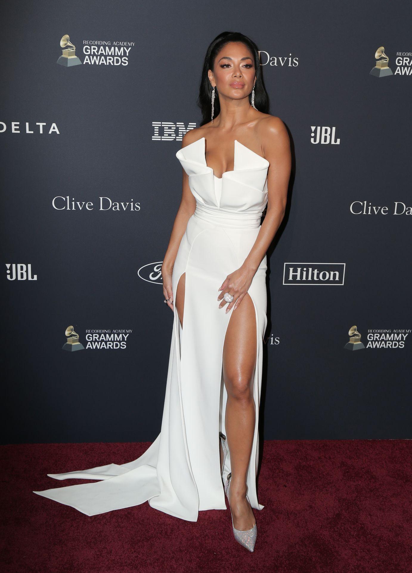 Nicole Scherzinger Stuns At The Clive Davis' 2020 Pre Grammy Gala 0029