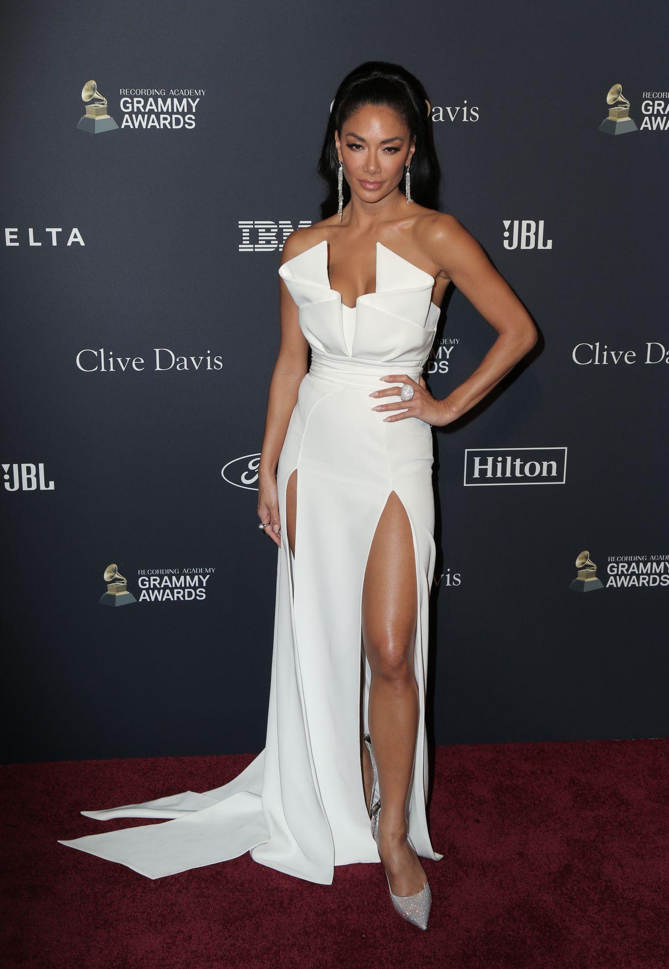 Nicole Scherzinger Stuns At The Clive Davis' 2020 Pre Grammy Gala 0030