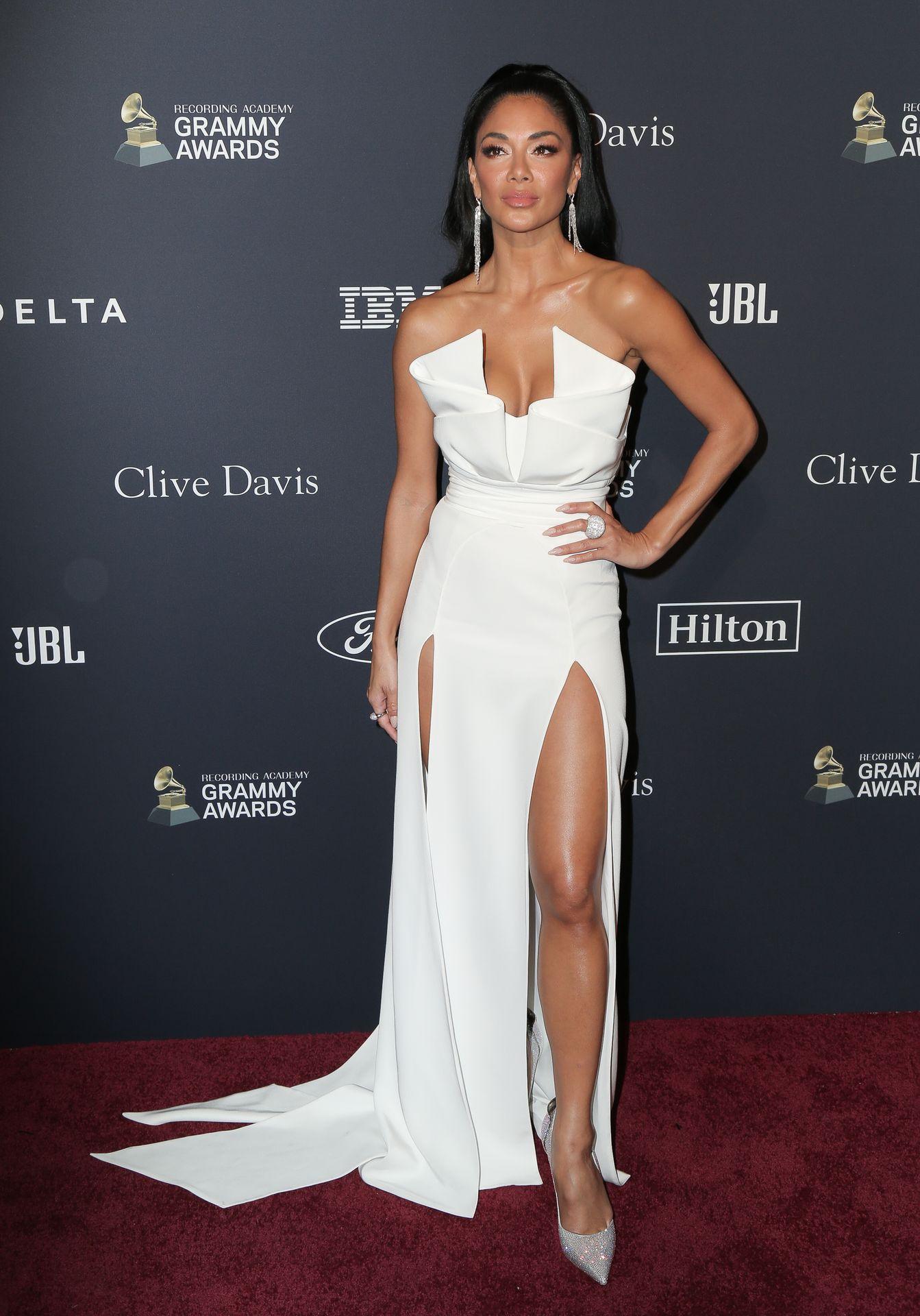 Nicole Scherzinger Stuns At The Clive Davis' 2020 Pre Grammy Gala 0034