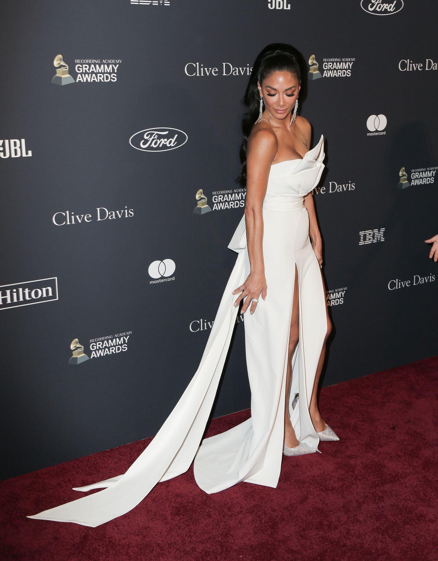 Nicole Scherzinger Stuns At The Clive Davis' 2020 Pre Grammy Gala 0037