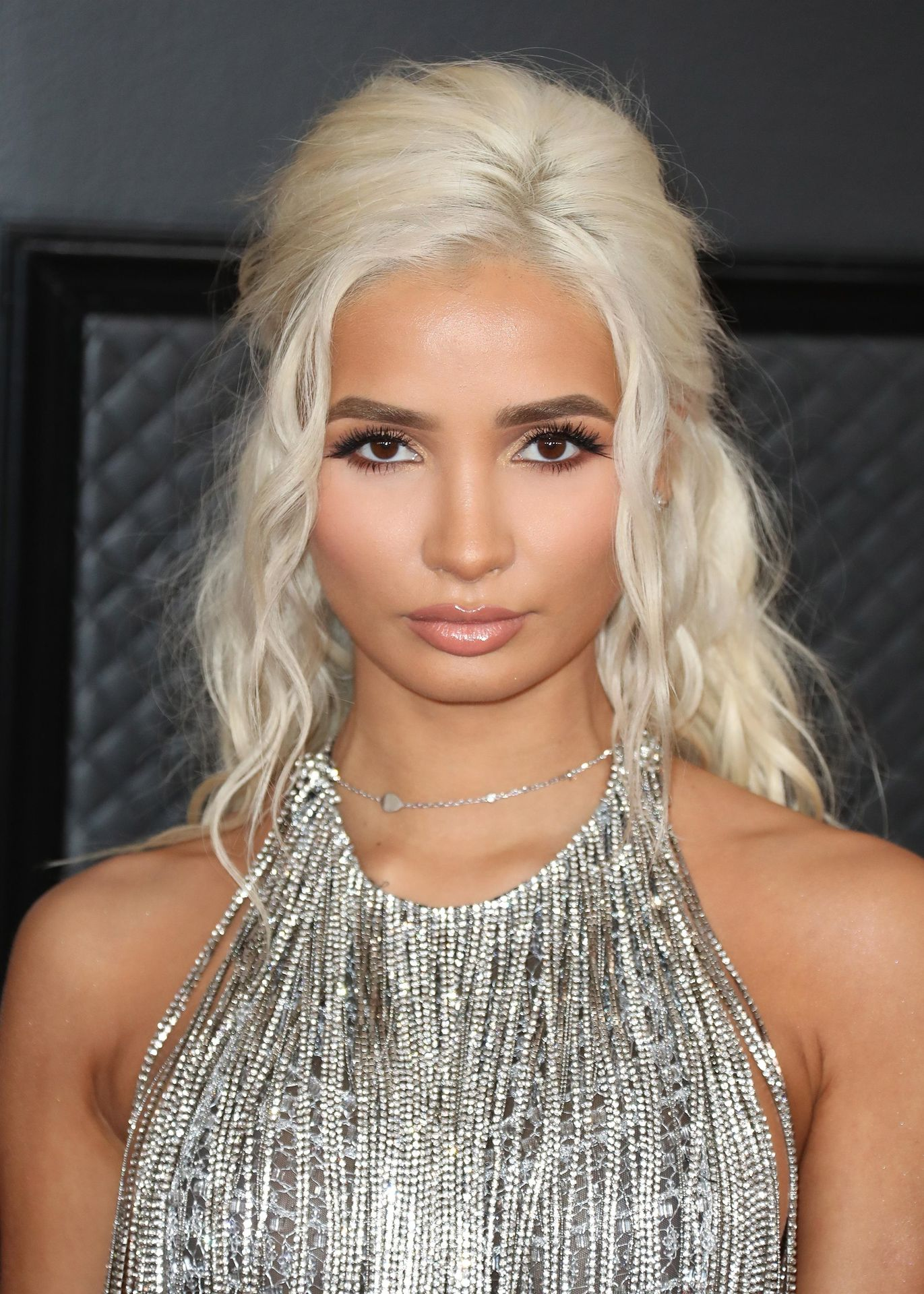 Pia Mia Perez Shows Her Sideboob At The 62nd Annual Grammy Awards 0006