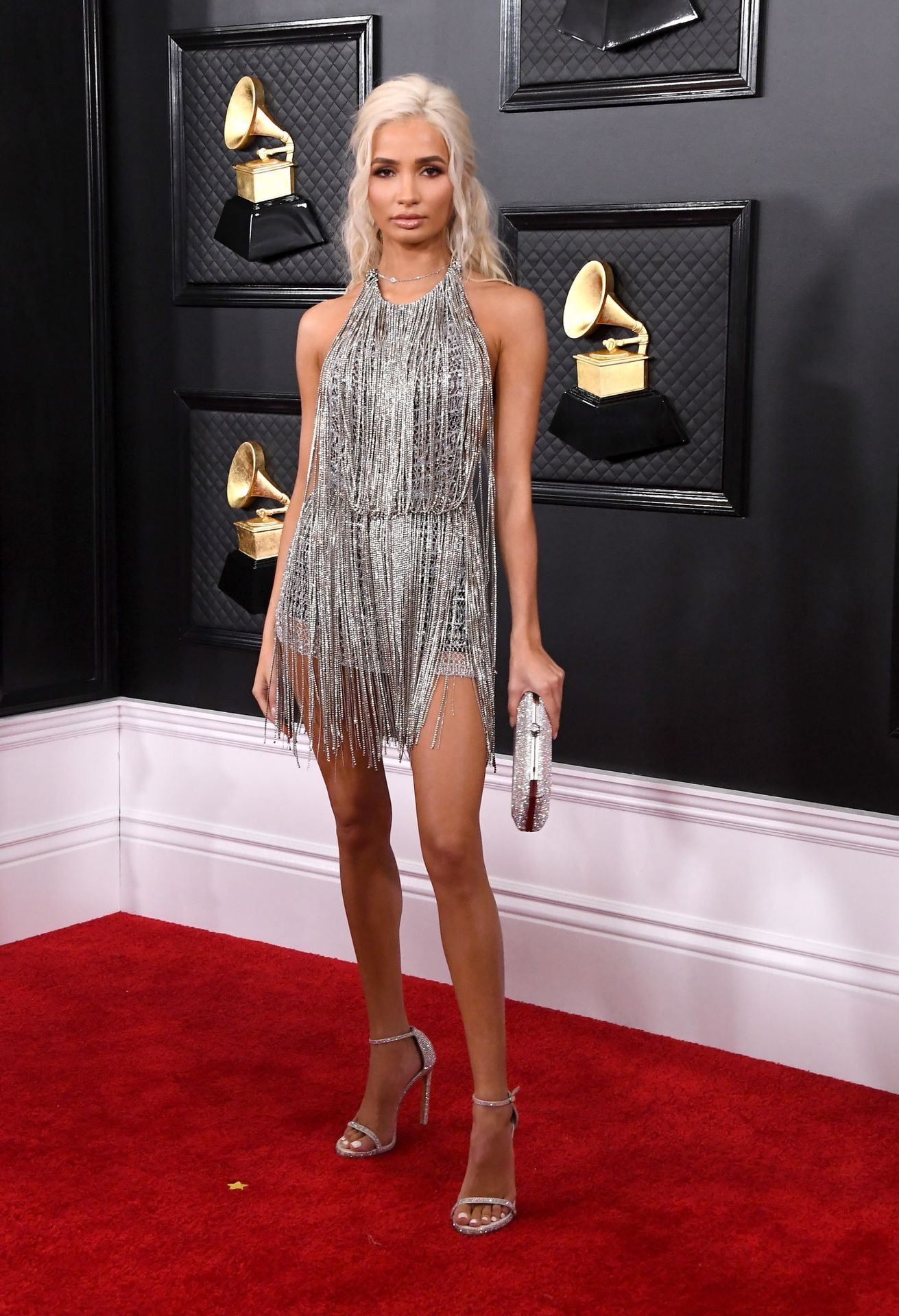 Pia Mia Perez Shows Her Sideboob At The 62nd Annual Grammy Awards 0021