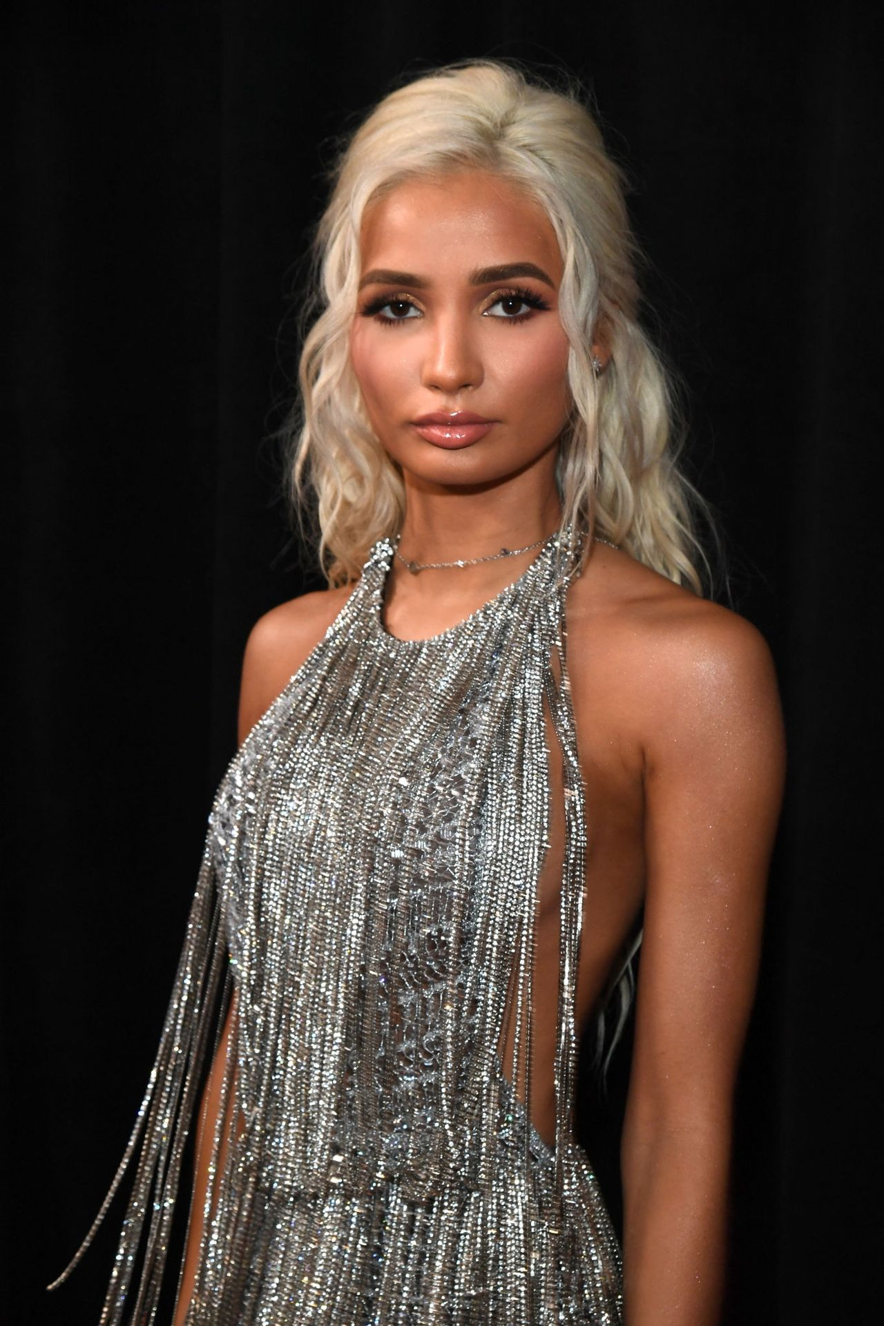 Pia Mia Perez Shows Her Sideboob At The 62nd Annual Grammy Awards 0024