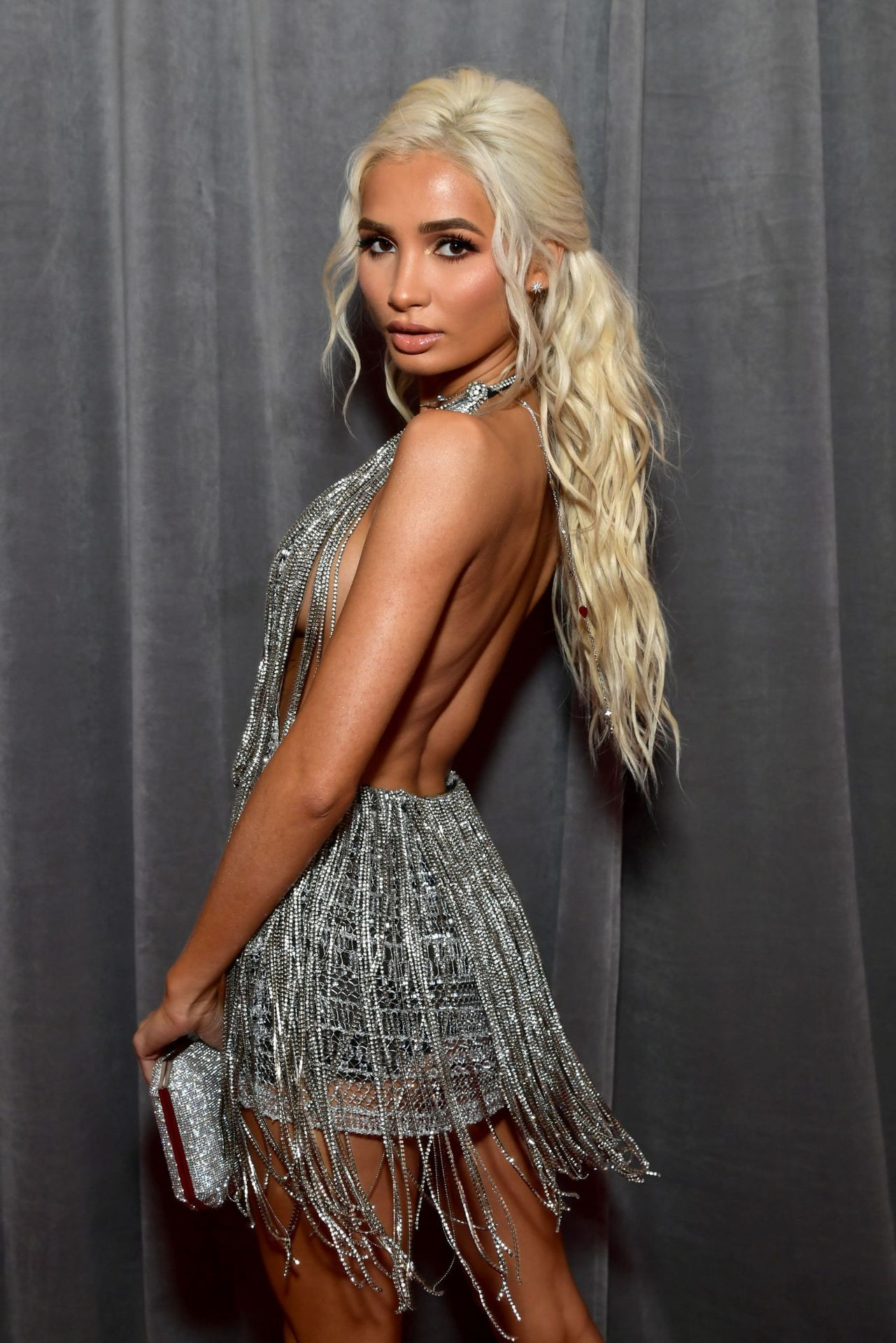 Pia Mia Perez Shows Her Sideboob At The 62nd Annual Grammy Awards 0025