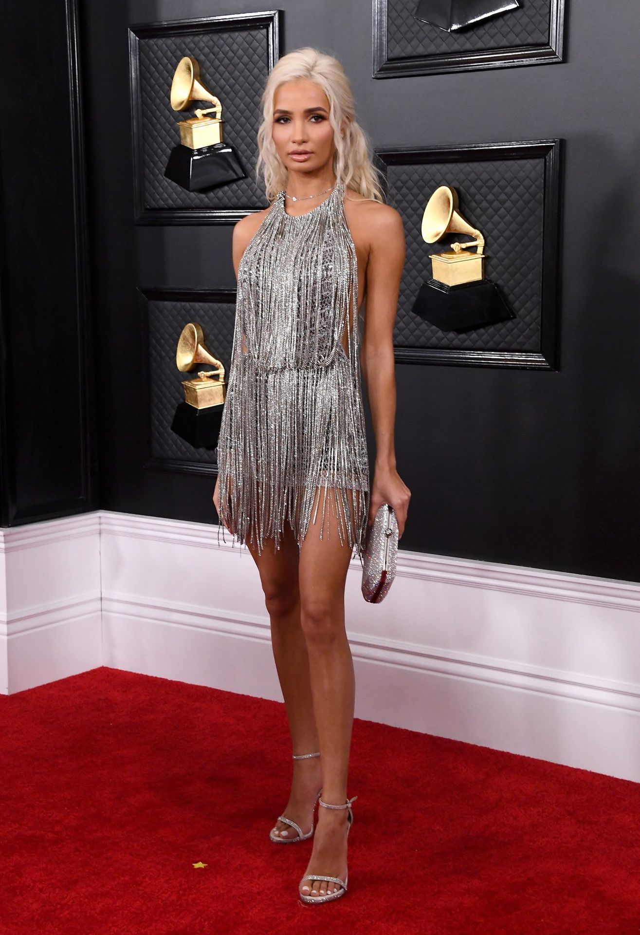 Pia Mia Perez Shows Her Sideboob At The 62nd Annual Grammy Awards 0026