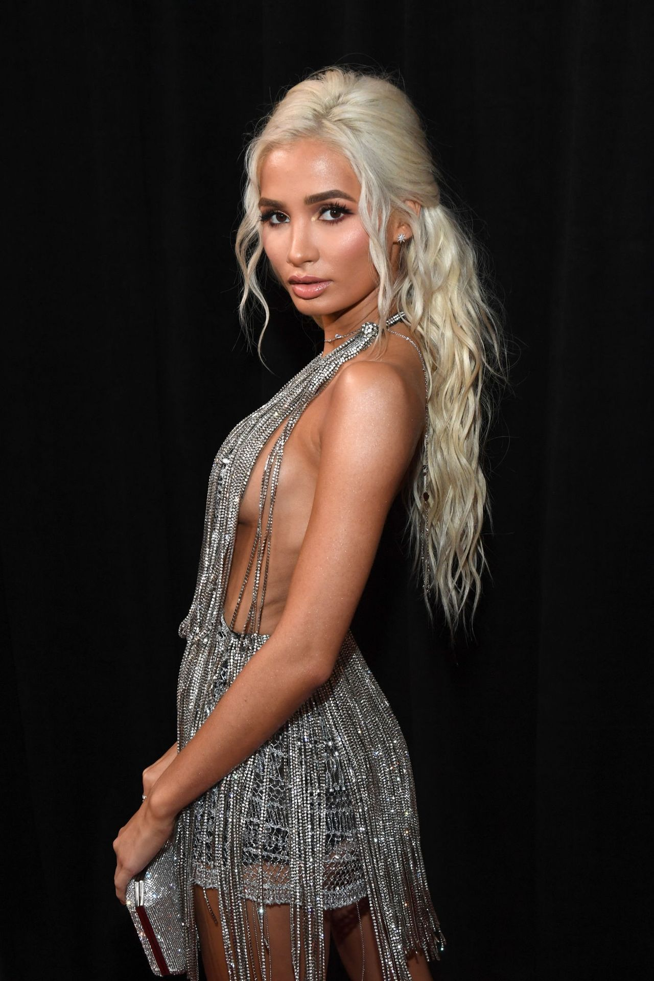 Pia Mia Perez Shows Her Sideboob At The 62nd Annual Grammy Awards 0030
