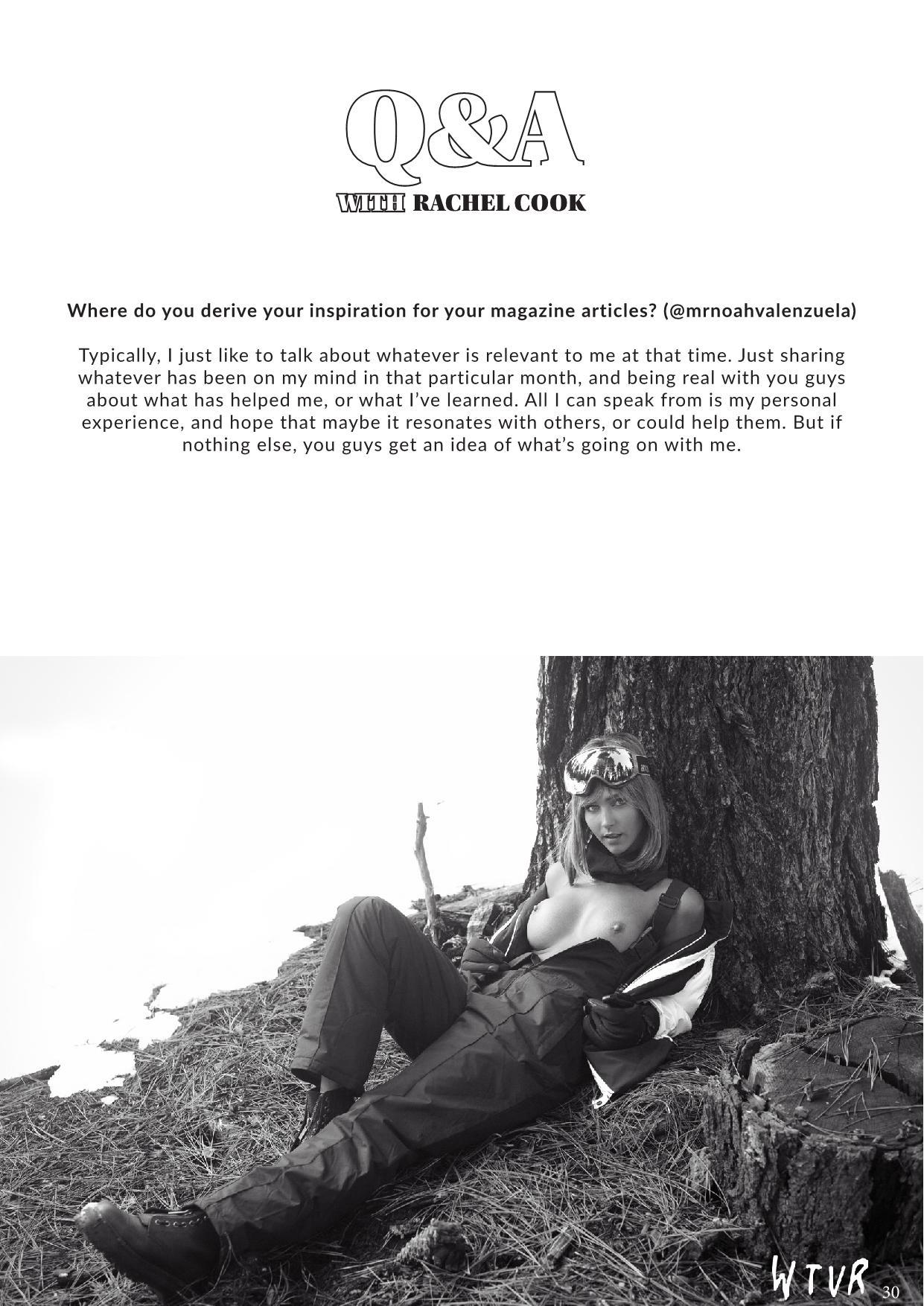 Rachel Cook, Alexis Rupp Nude – Wtvr Magazine №3 0028