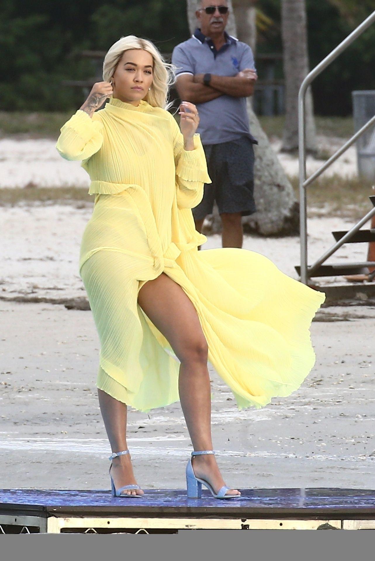 Rita Ora Upskirt 0007