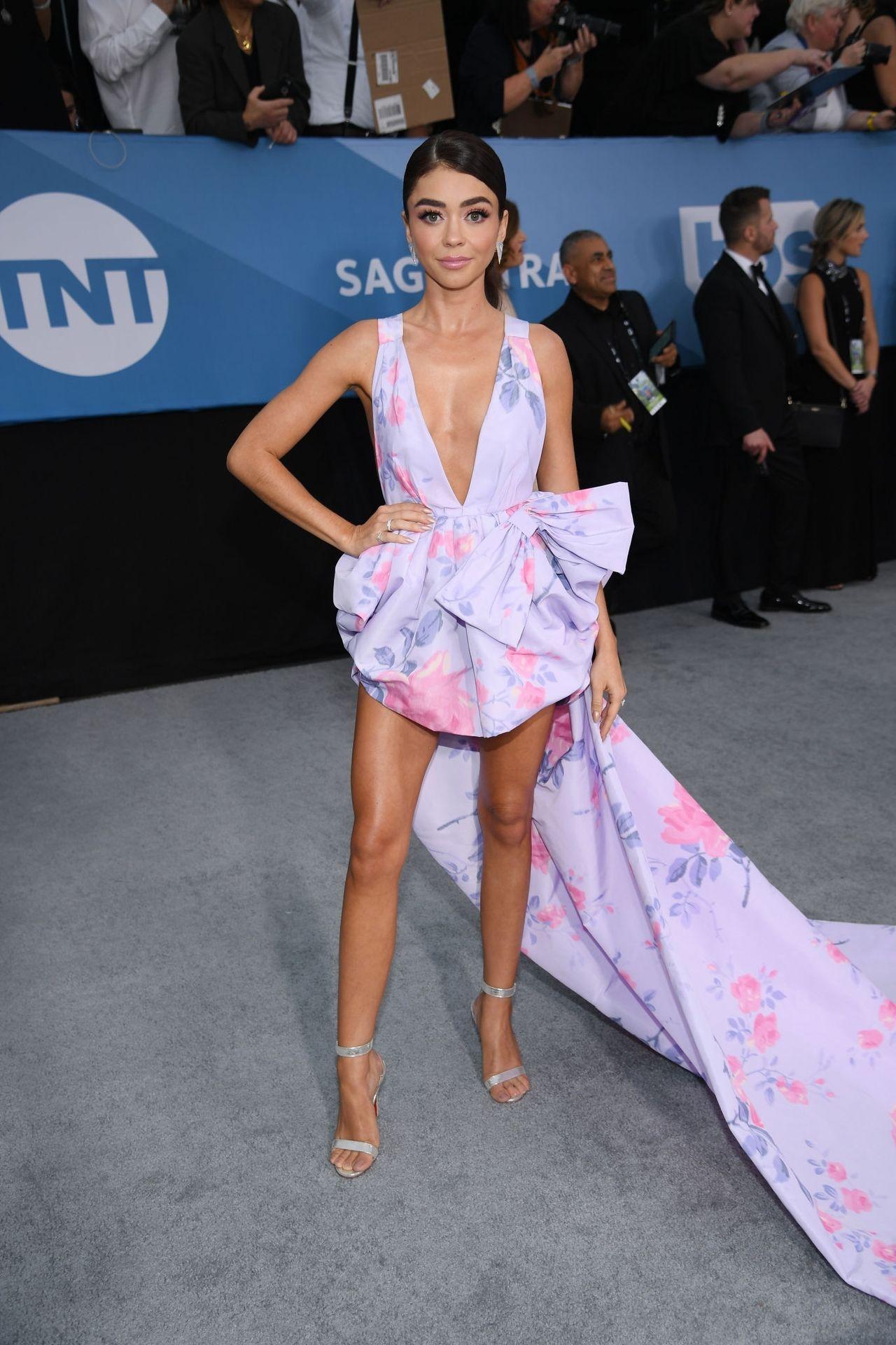 Sarah Hyland Stuns At The Screen Actors Guild Awards 0022