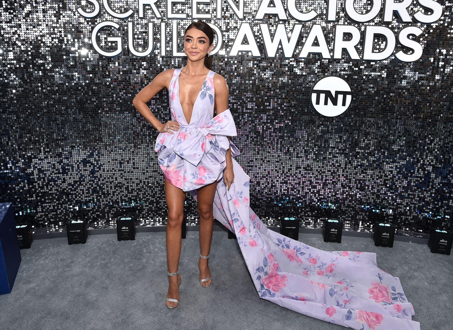 Sarah Hyland Stuns At The Screen Actors Guild Awards 0027