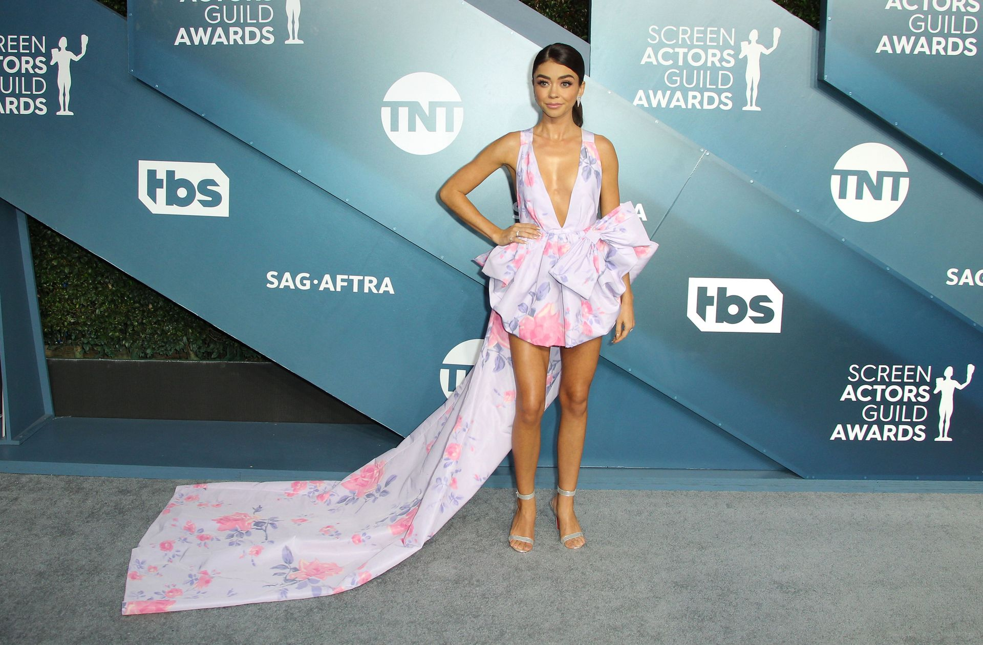 Sarah Hyland Stuns At The Screen Actors Guild Awards 0049