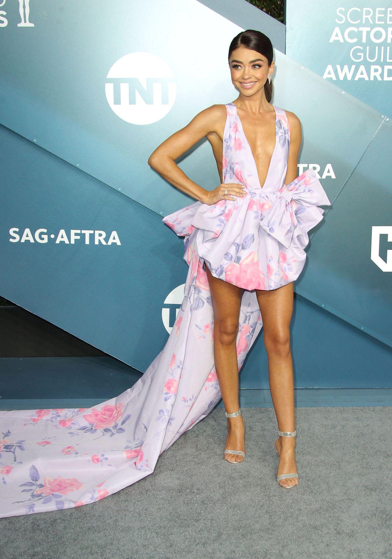 Sarah Hyland Stuns At The Screen Actors Guild Awards 0050