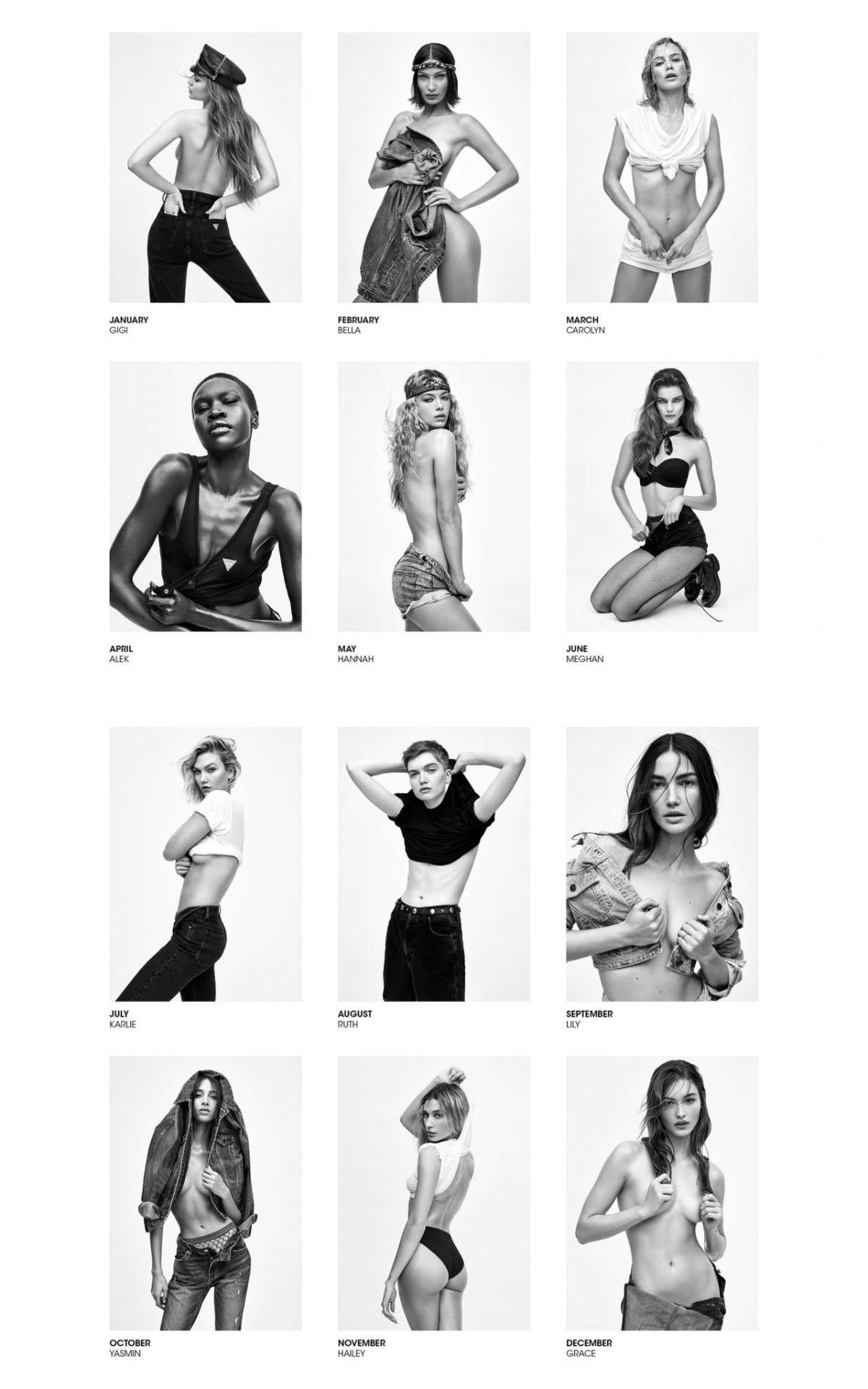 V Magazine 2020 Nude Calendar 0014