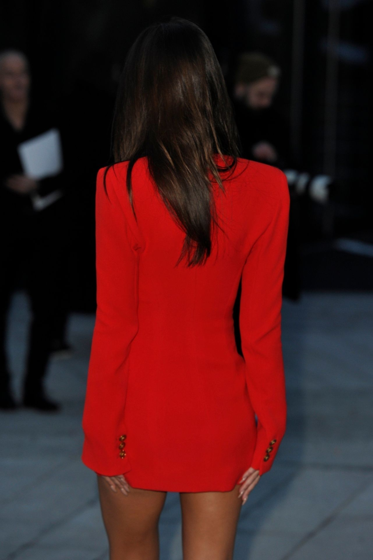 Emily Ratajkowski Stuns At The Versace Fashion Show During Milan Fashion Week 0067