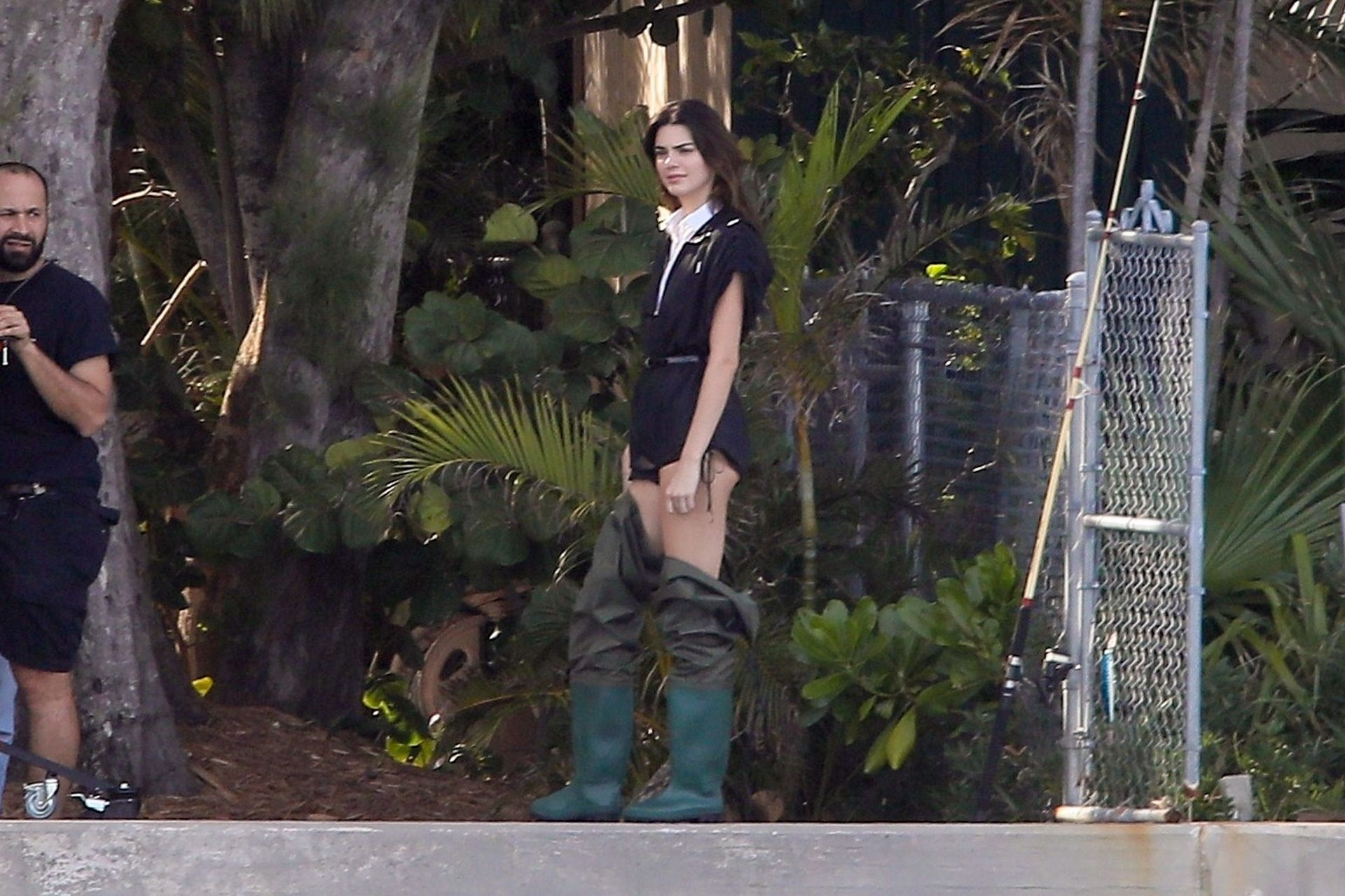 Kendall Jenner Poses In A New Photoshoot In Miami 0117