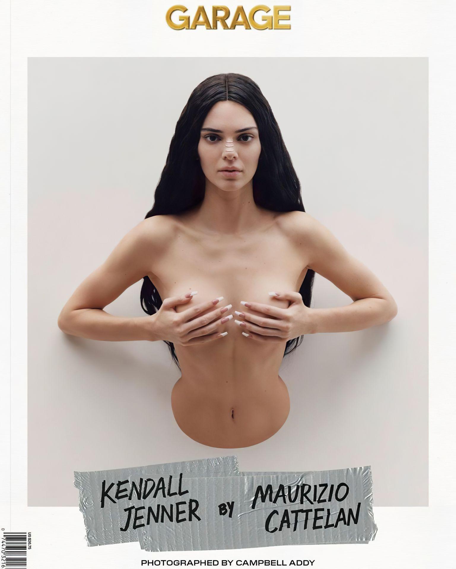 Kendall Jenner Sexy & Topless – Garage Magazine 0001