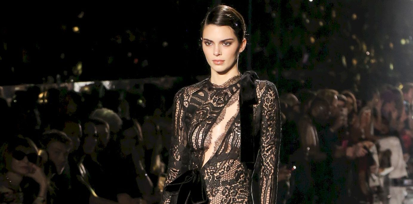 Kendall Jenner Walks The Runway During The Tom Ford Show 0001