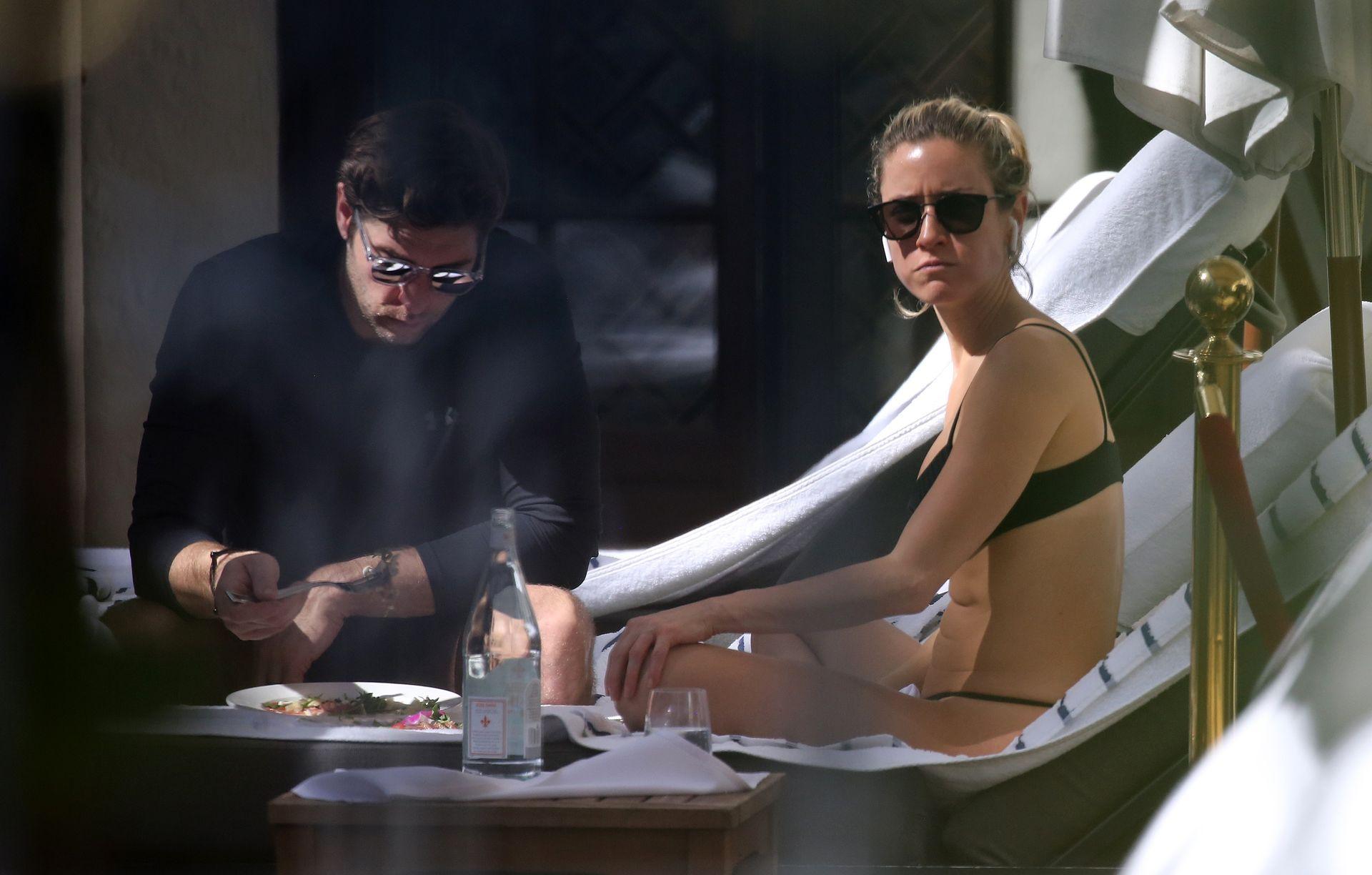 Kristin Cavallari Wears A Black Bikini In Miami 0006