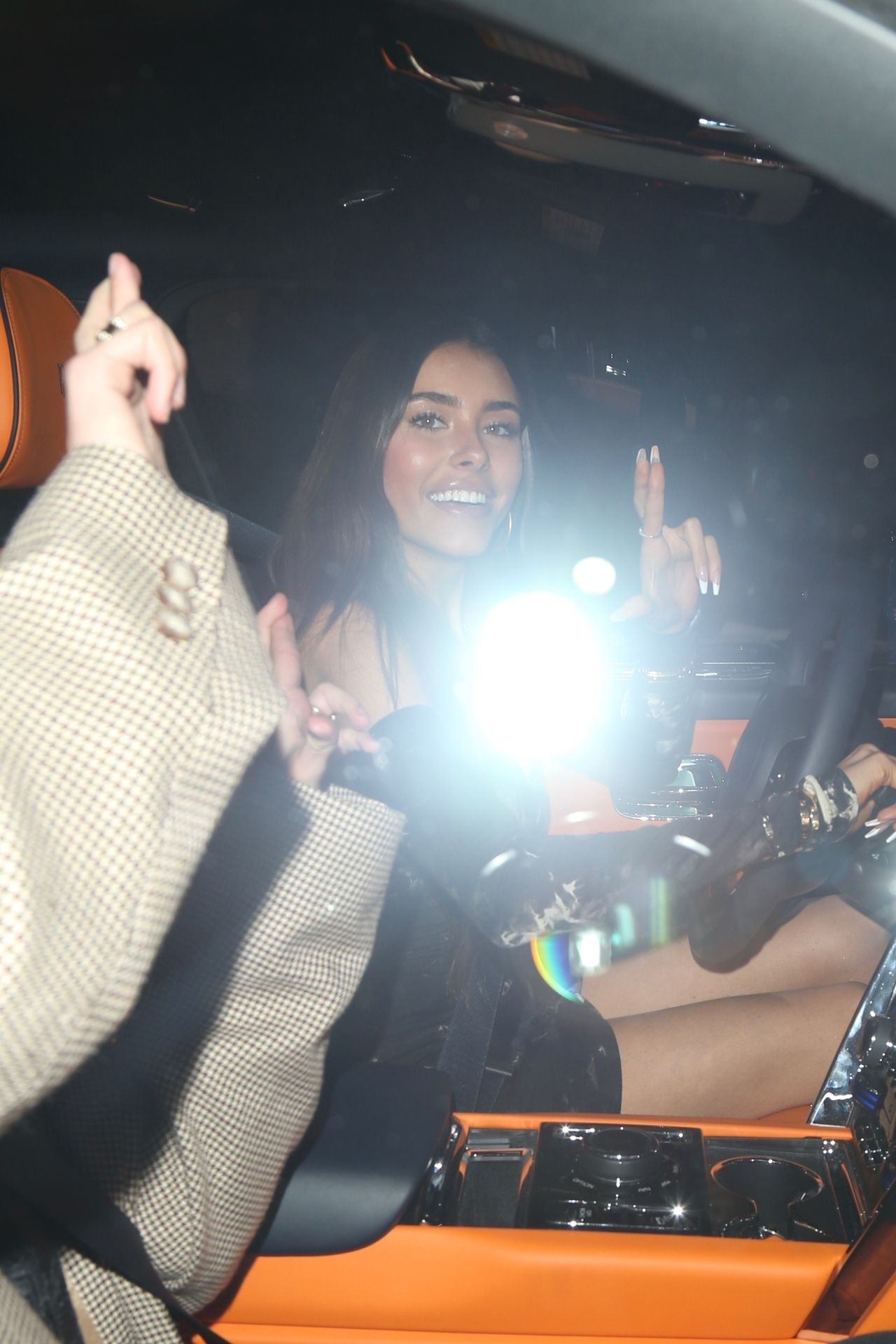 Madison Beer Stuns In Black At Catch La 0038