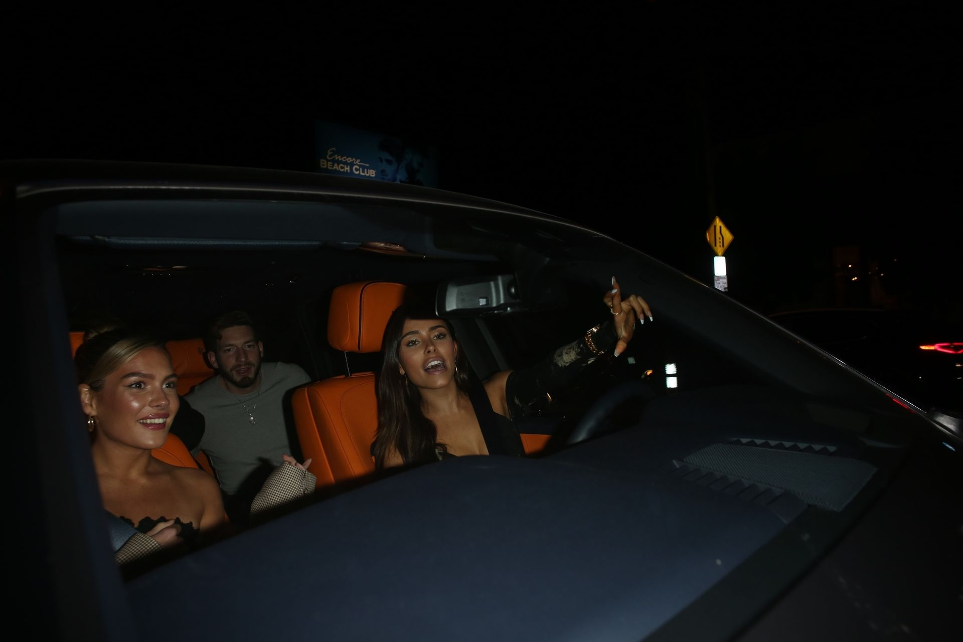 Madison Beer Stuns In Black At Catch La 0066
