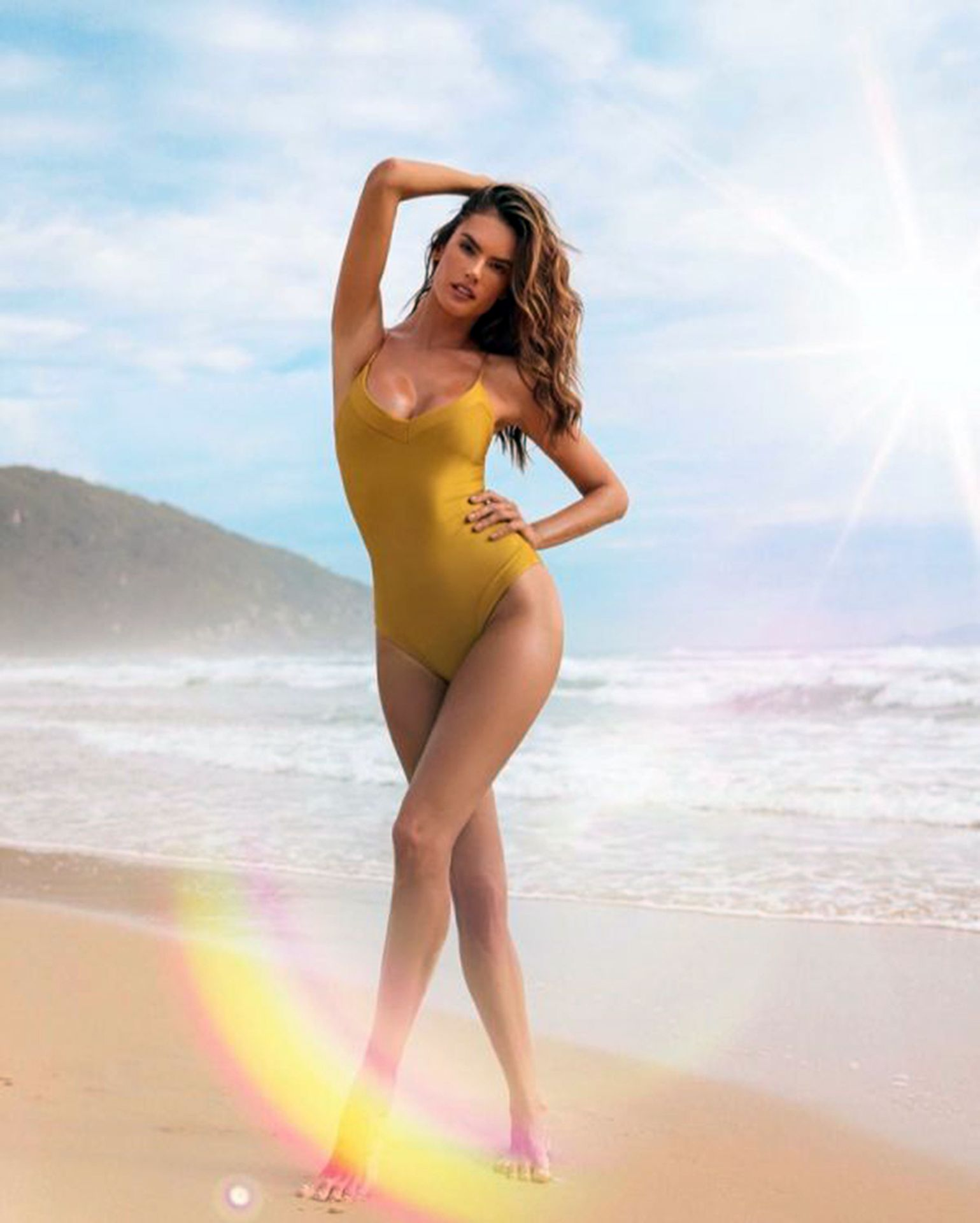 Alessandra Ambrosio Presents The New Campaign Of Her Brand Gal Floripa 0003
