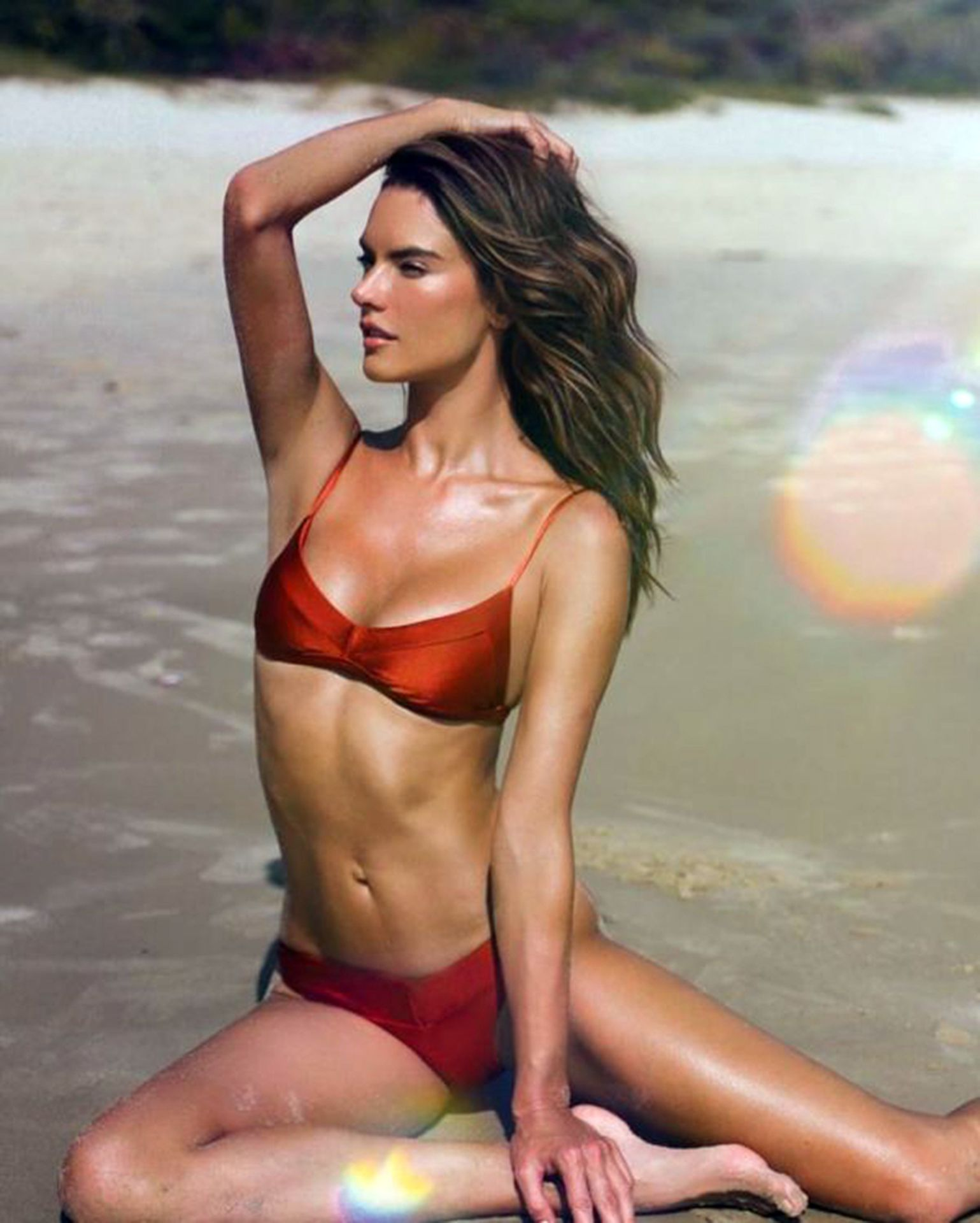 Alessandra Ambrosio Presents The New Campaign Of Her Brand Gal Floripa 0006