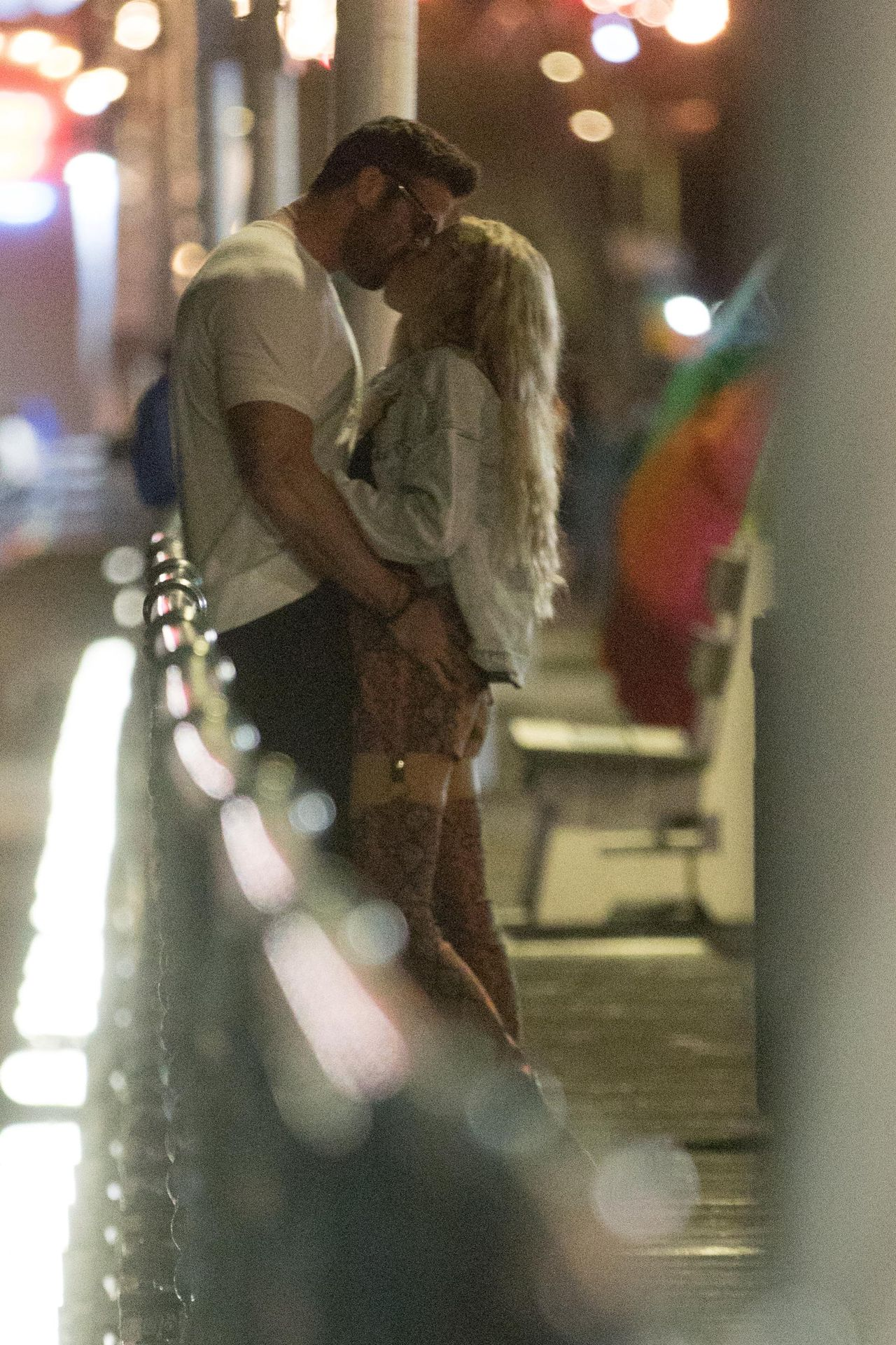 Chad Johnson & Annalise Mishler Are Seen On A Low Key Date At The Santa Monica Pier 0001