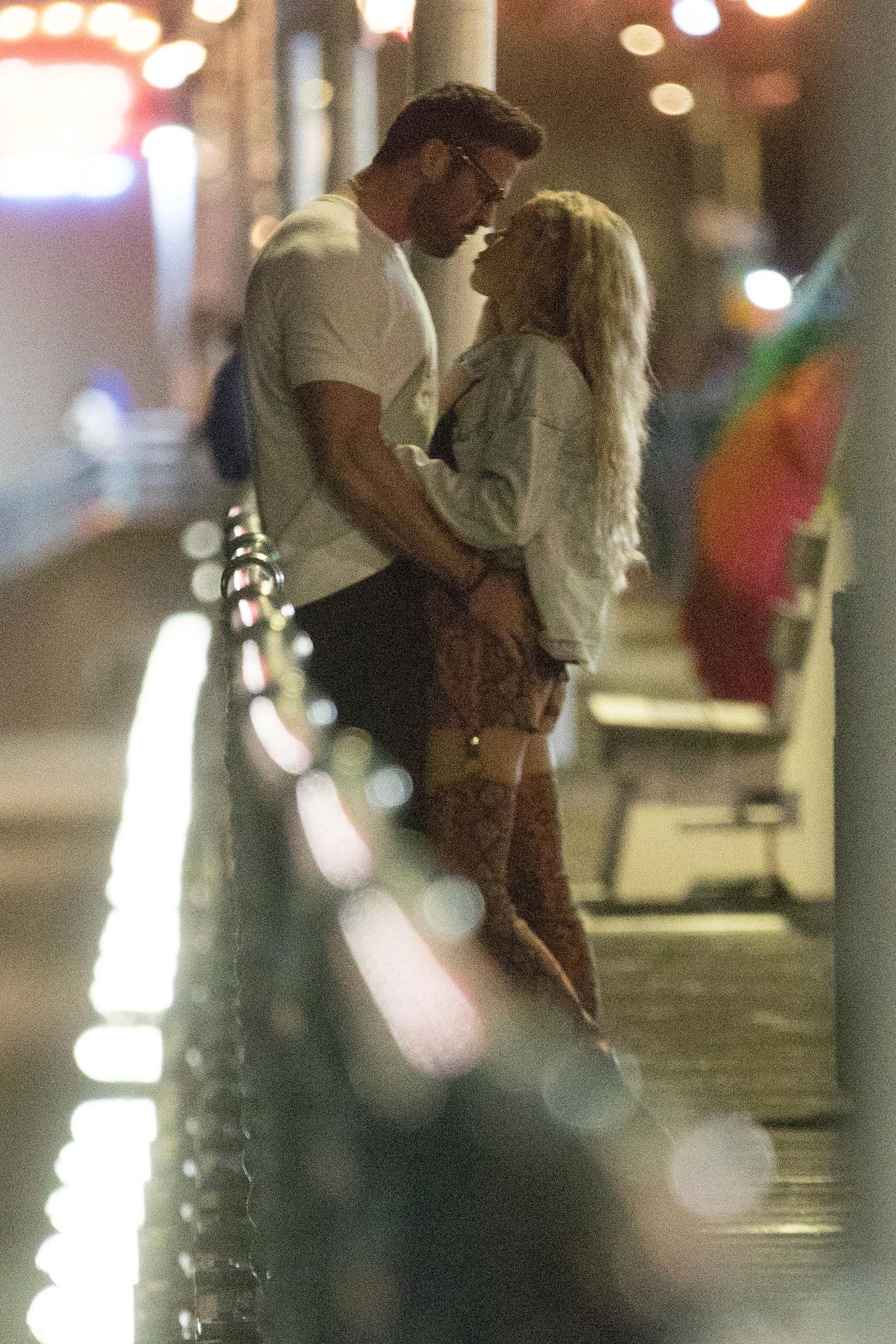 Chad Johnson & Annalise Mishler Are Seen On A Low Key Date At The Santa Monica Pier 0003