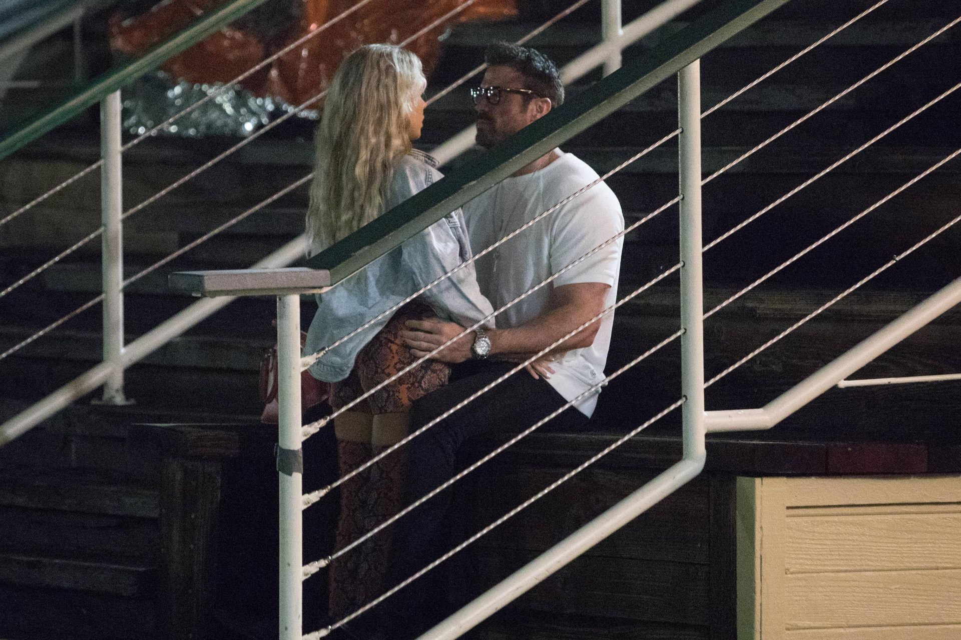 Chad Johnson & Annalise Mishler Are Seen On A Low Key Date At The Santa Monica Pier 0007